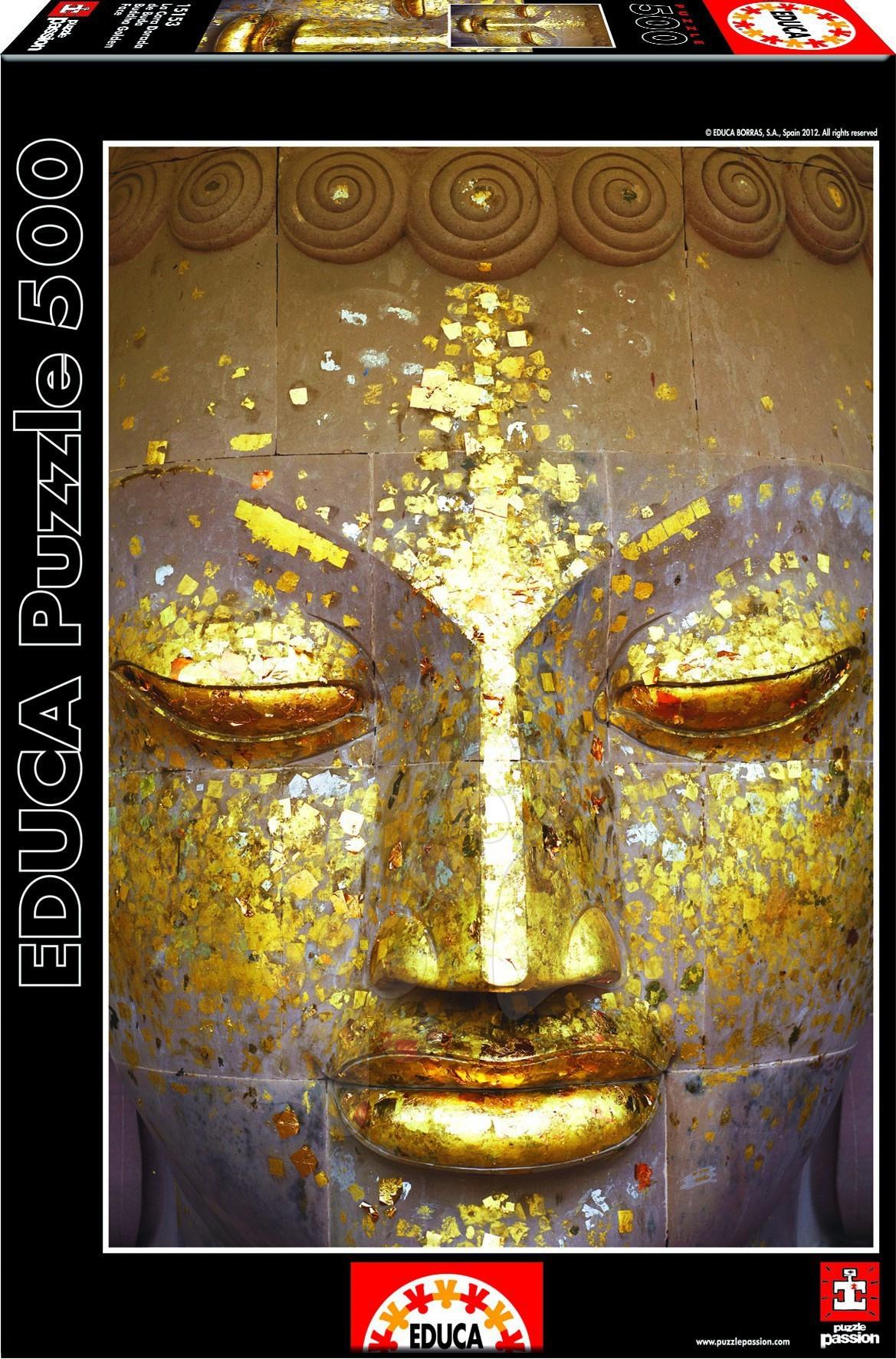 Puzzle Zlatý Buddha Educa 500 dielov od 11 rokov