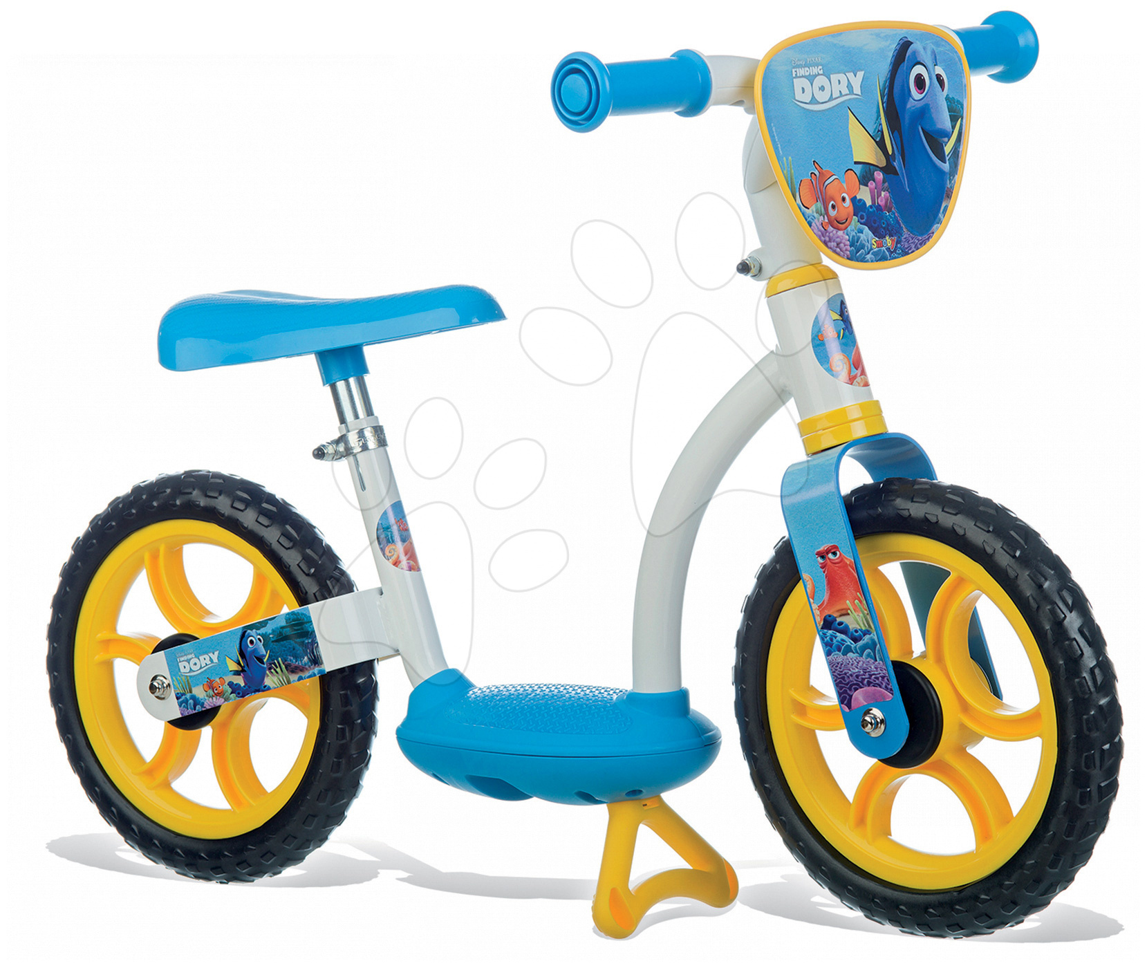 Balanční odrážedlo Hledá se Dory Learning Bike Smoby s nastavitelnou výškou sedáku od 24 měsíců
