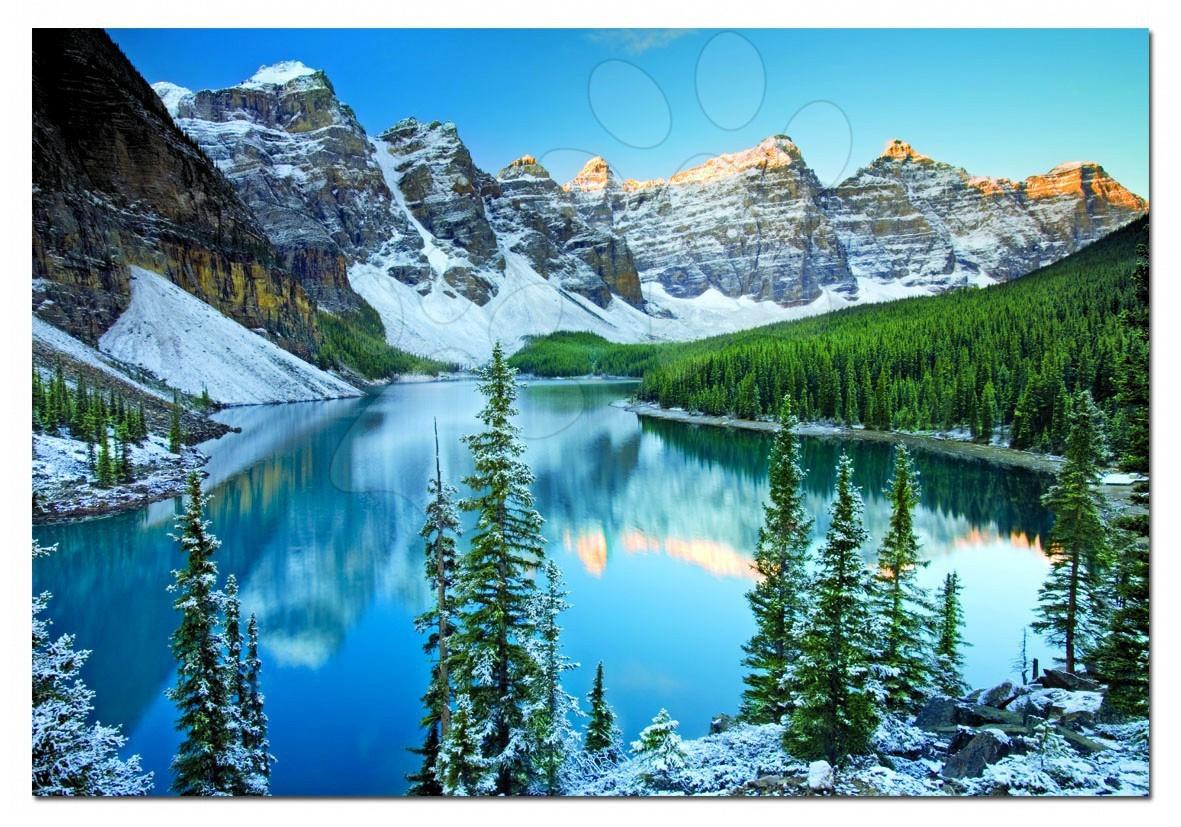 1000 darabos puzzle - Puzzle Nemzeti Park-Banff Educa 1000 db