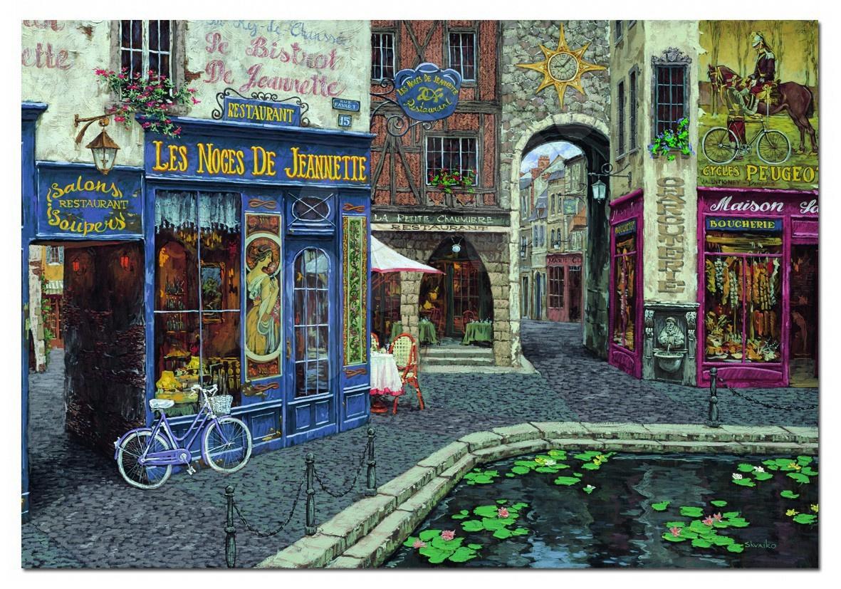 Puzzle 1000 dielne - Puzzle Viktor Shvaiko, Les Noces de Jeannette Educa 1000 dielov s lepidlom