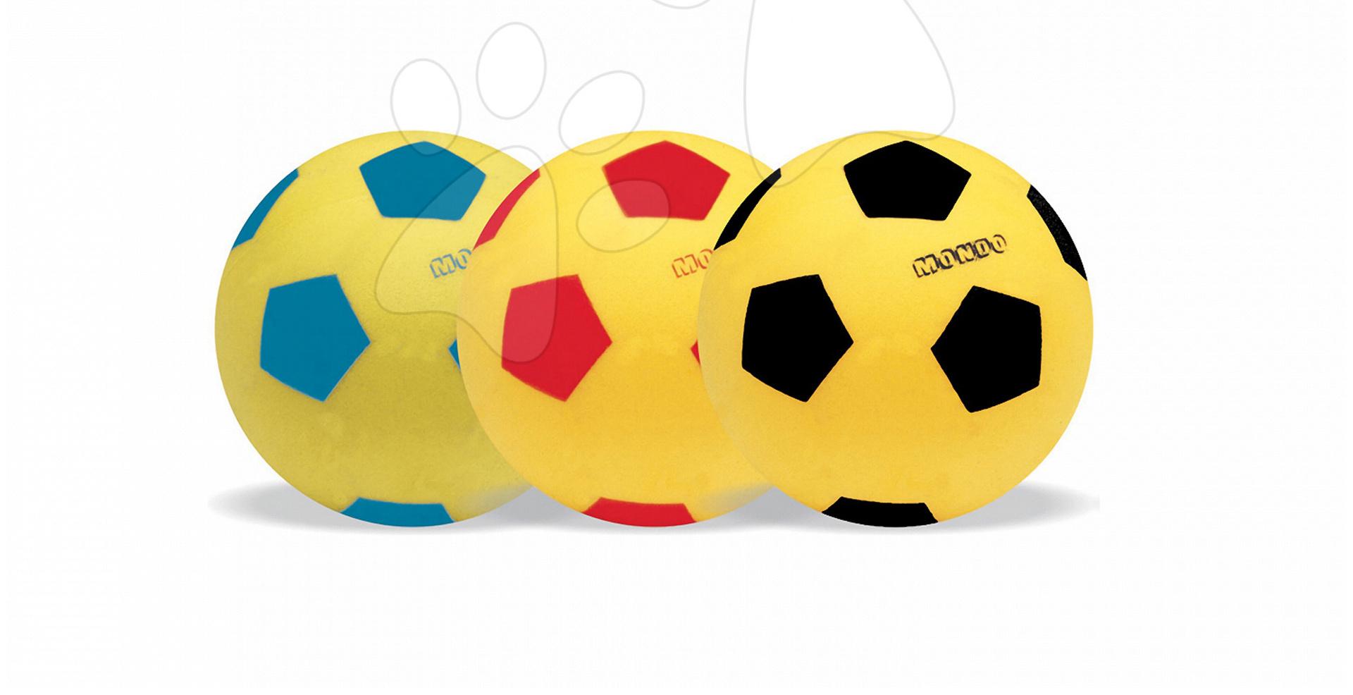 94f25f33af633 Futbalová lopta penová Mondo 14 cm od 24 mes