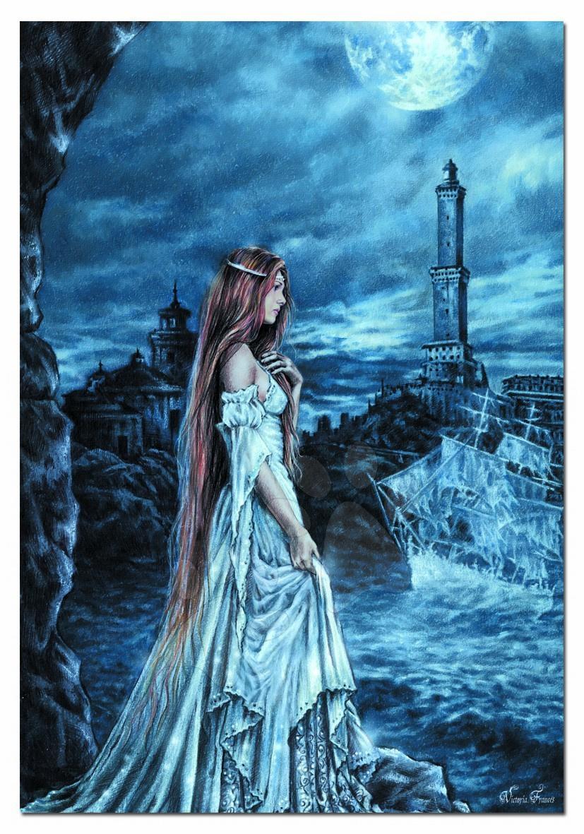 Staré položky - Puzzle Geona Blue/ Victoria Frances Educa 500 dielov