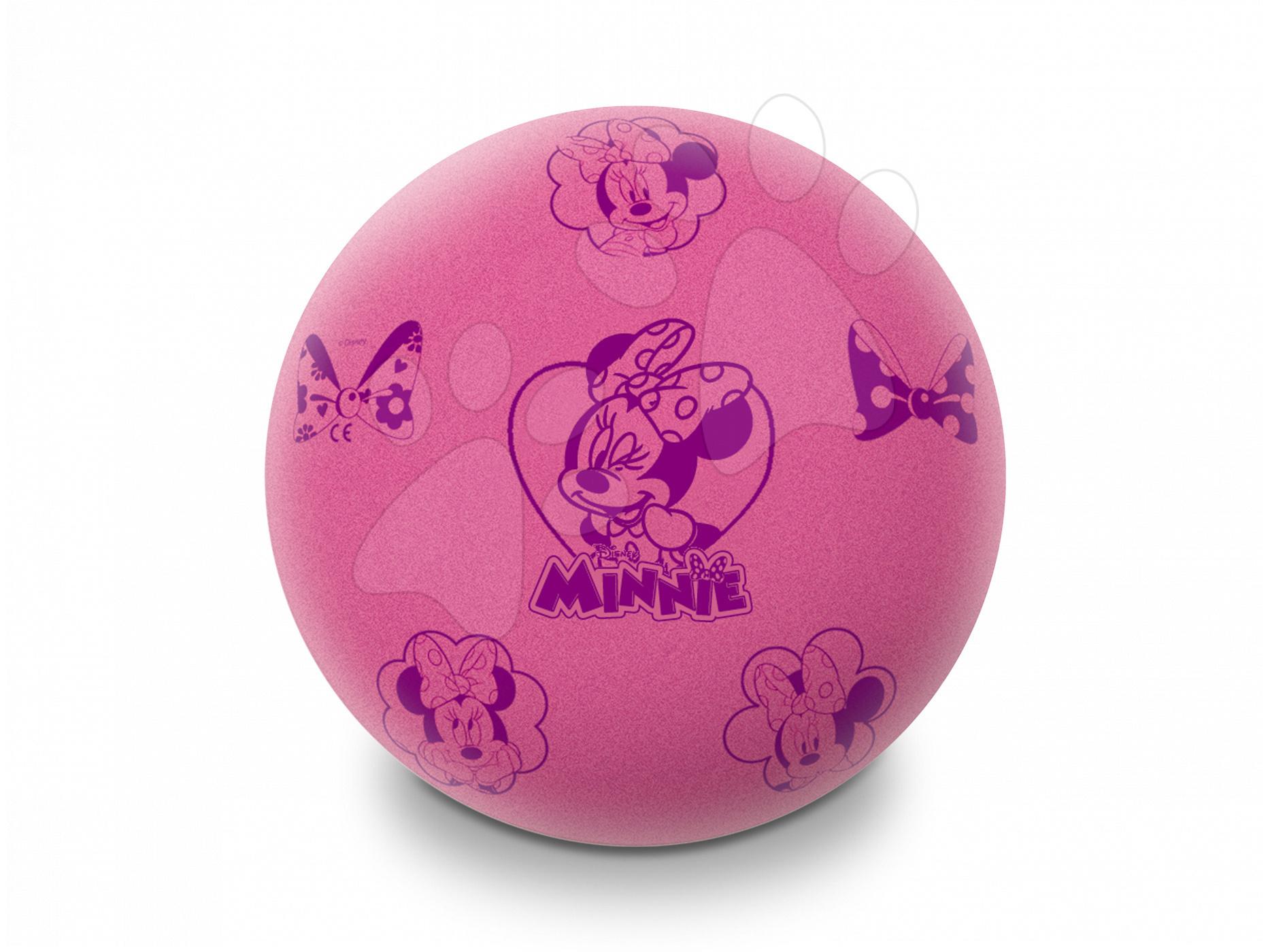 Habszivacs labda Minnie Soft Ball Mondo 20 cm rózsaszín 24 hó-tól