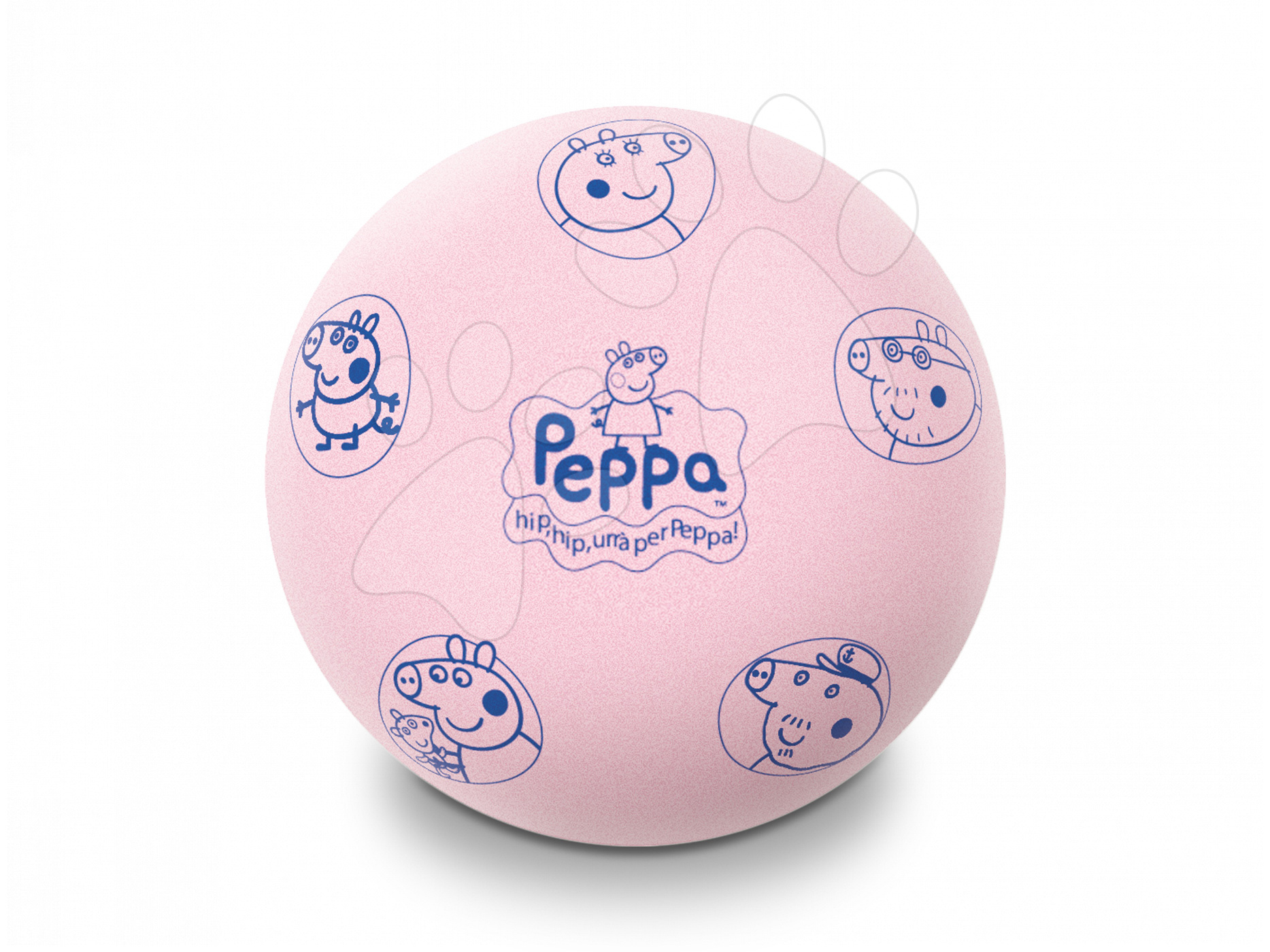 Pěnový míč Peppa Pig Mondo 20 cm růžový od 12 měsíců