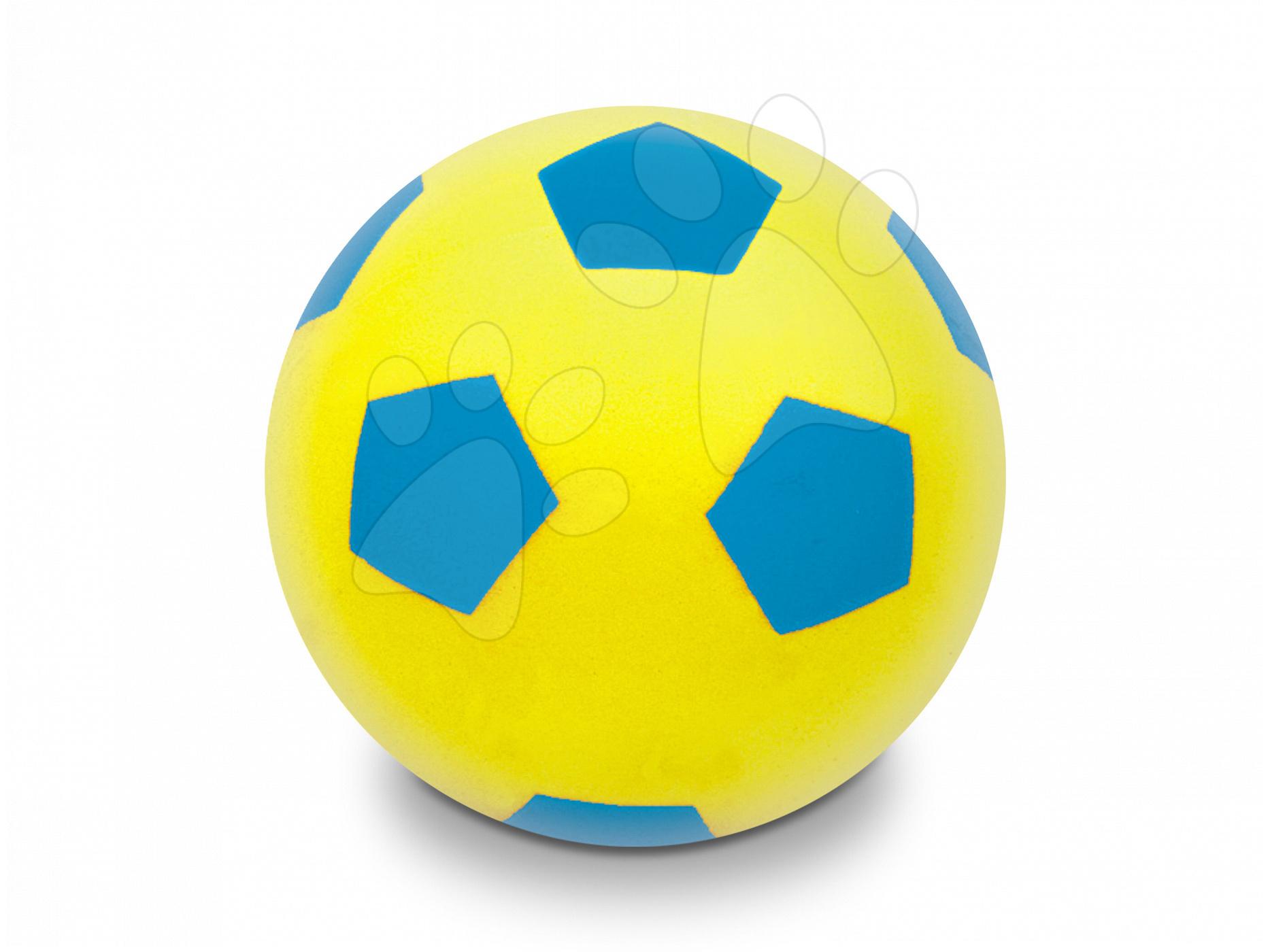 Fotbalový míč pěnový Soft Fluo Ball Mondo žlutý 20 cm od 24 měsíců