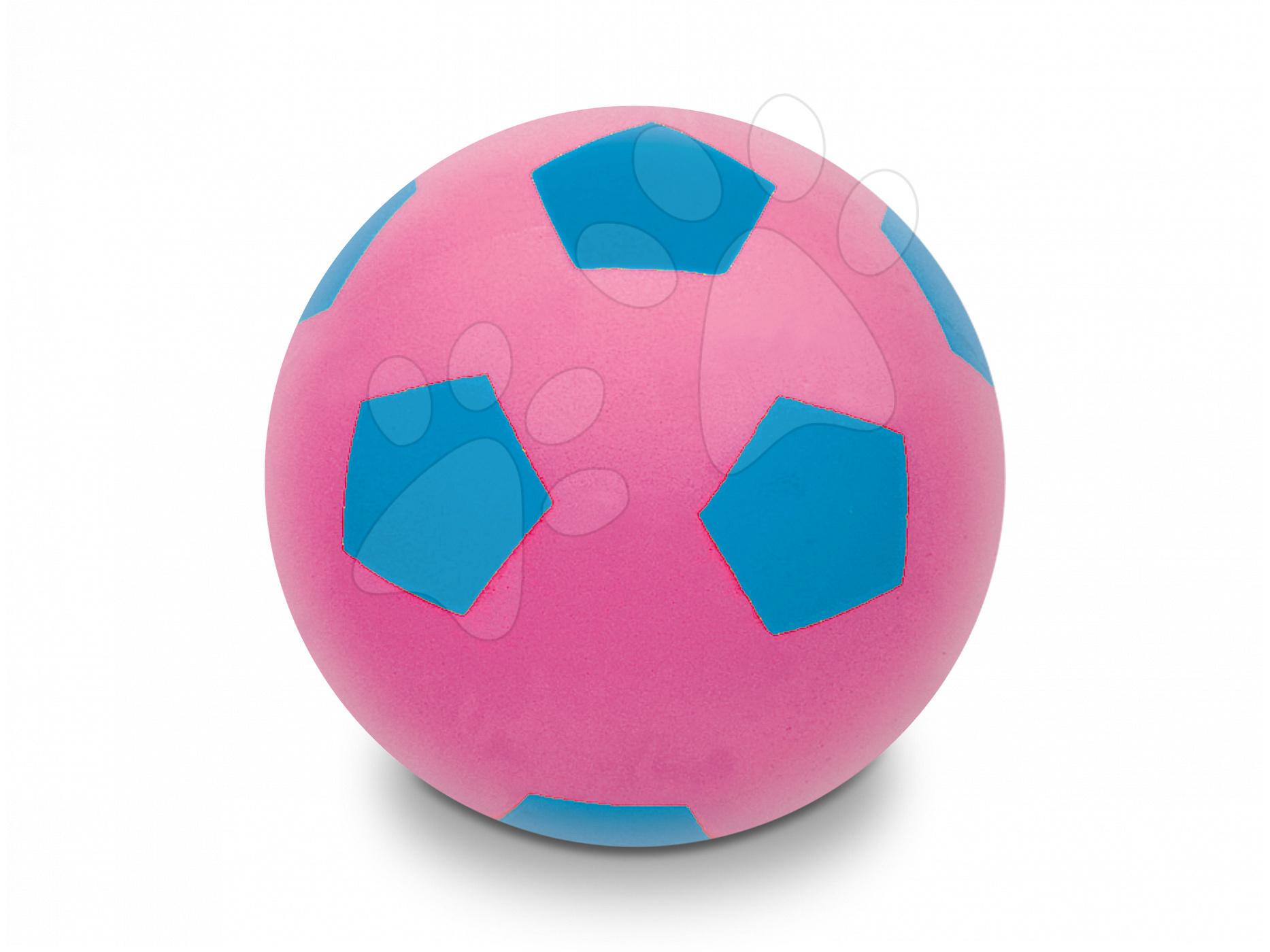 Fotbalový pěnový míč Soft Fluo Ball Mondo růžový 20 cm od 24 měsíců