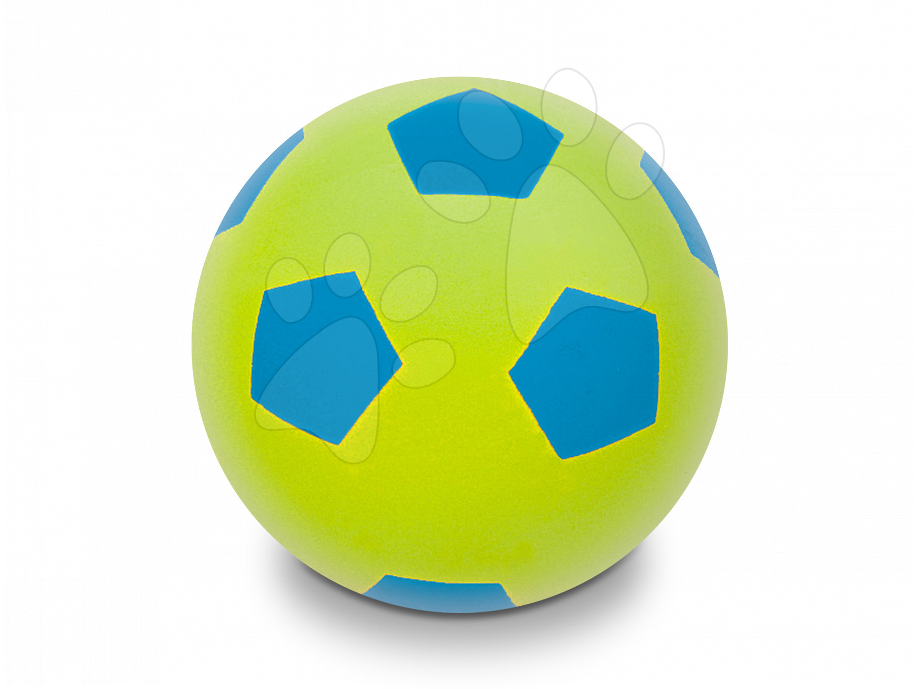 Fotbalový míč pěnový Soft Fluo Ball Mondo zelený 20 cm od 24 měsíců