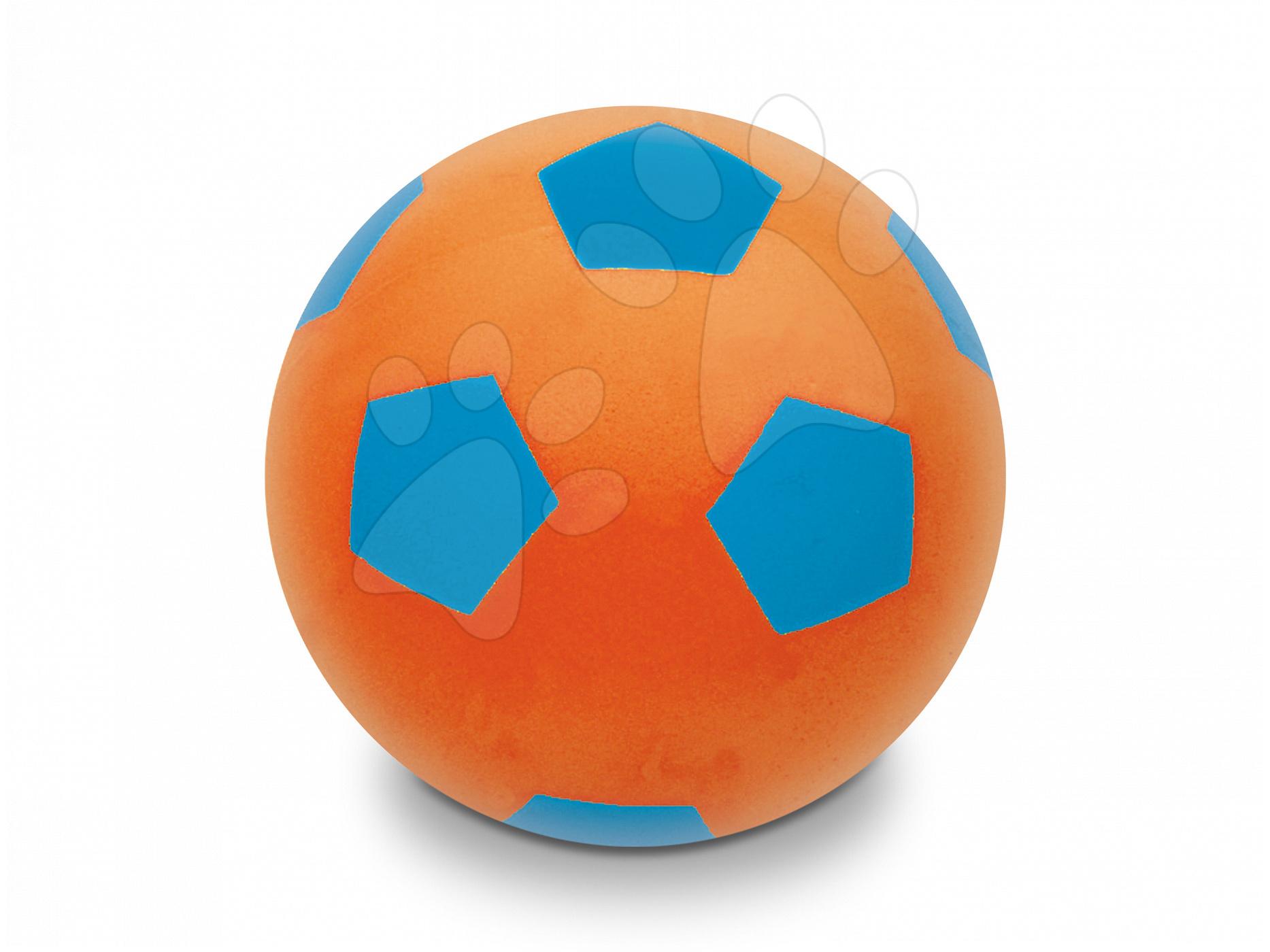Habszivacs labda Soft Fluo Ball Mondo 20 cm narancssárga 24 hó-tól