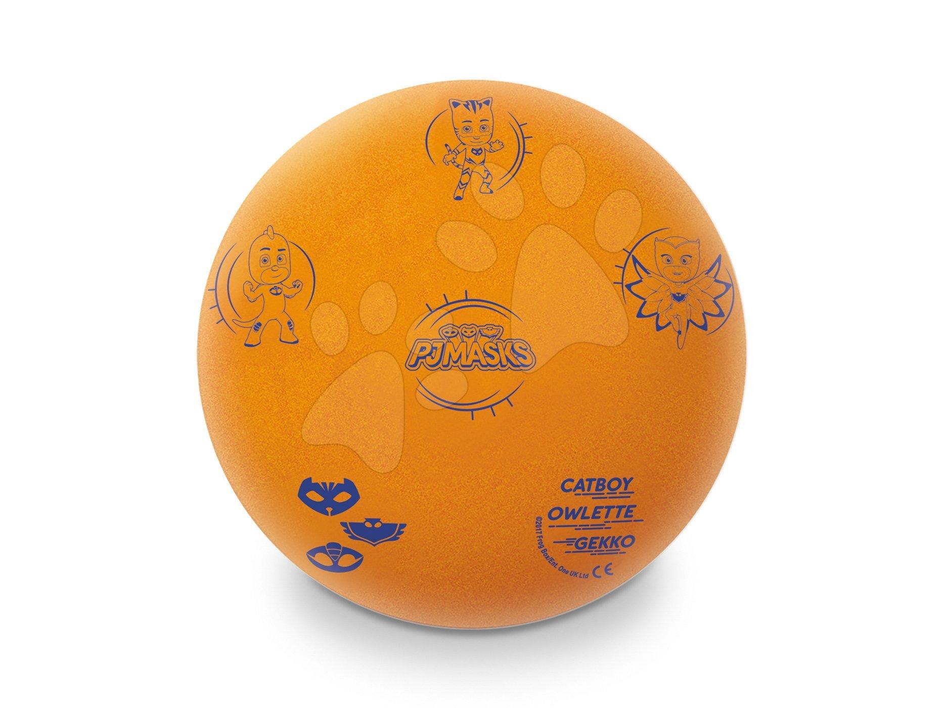 Pěnový míč PJ Masks Mondo 20 cm oranžový od 24 měsíců