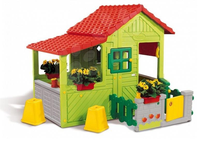 Ma Maison Floralie domček záhradník Smoby elektrický s doplnkami s UV filtrom 148 cm vysoký