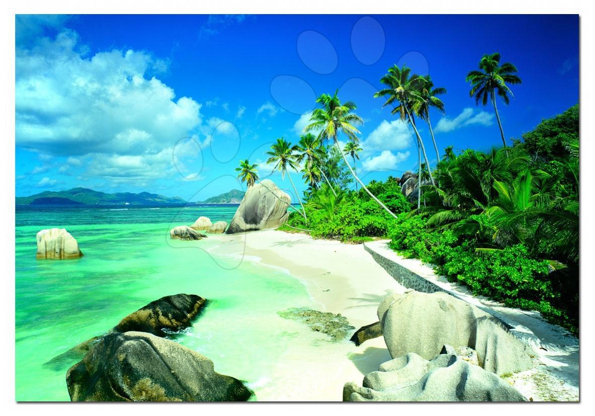 Puzzle Genuine Seychelles Educa 2000 dielov a lepidlo