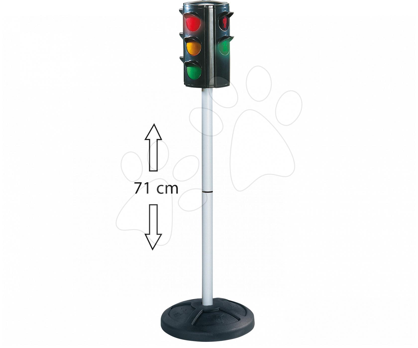 Semafor BIG automatický černý