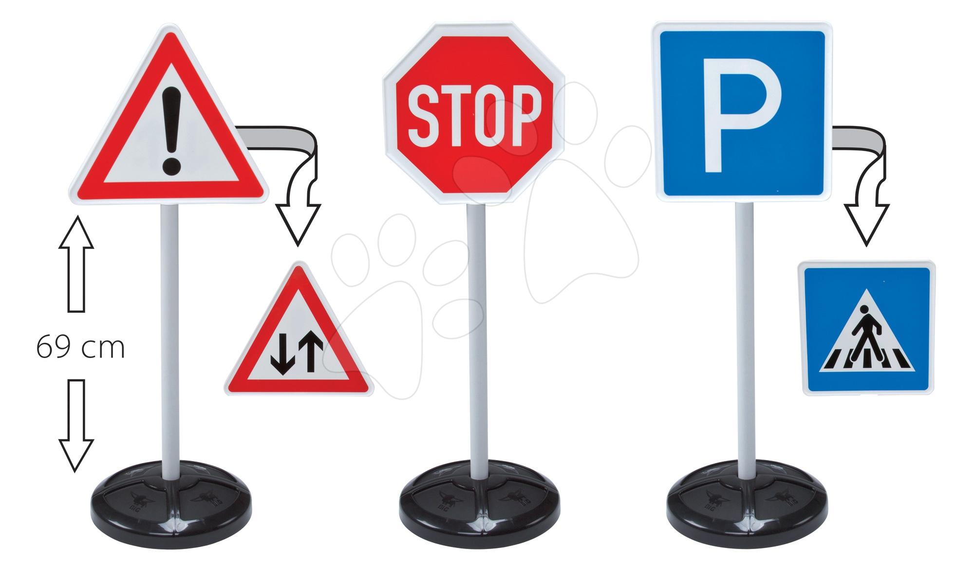 Set dopravní značky BIG 5 druhů