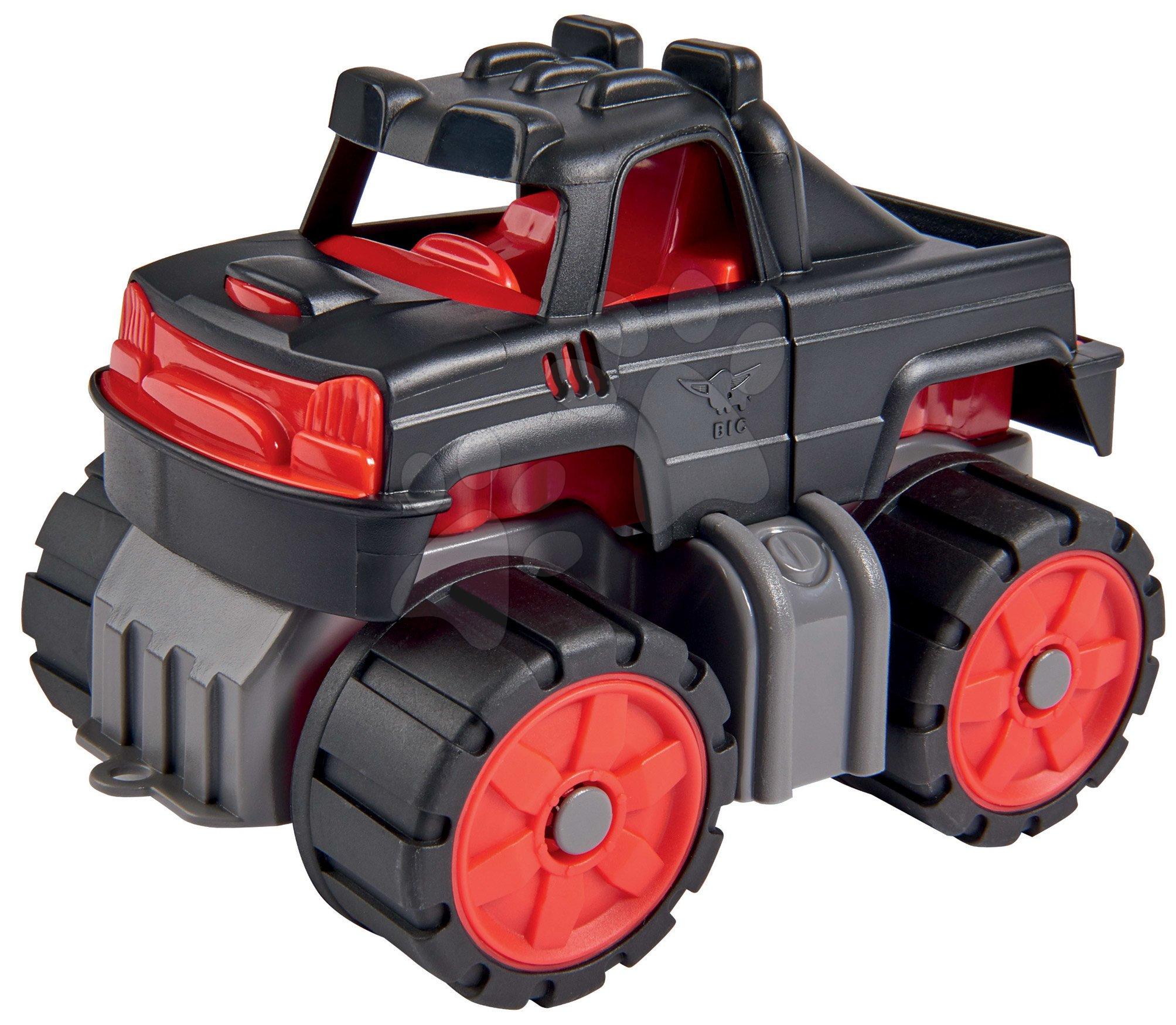 Camion Monstertruck Mini Power Worker Big 15 cm cu roți din cauciuc de la 2 ani
