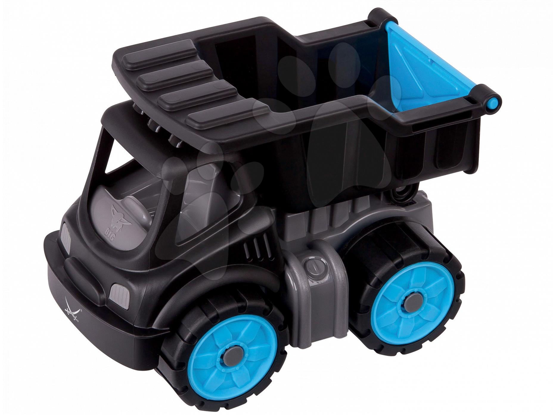 Nákladné autá - Nákladné auto Sansibar BIG dĺžka 16 cm čierne od 24 mes