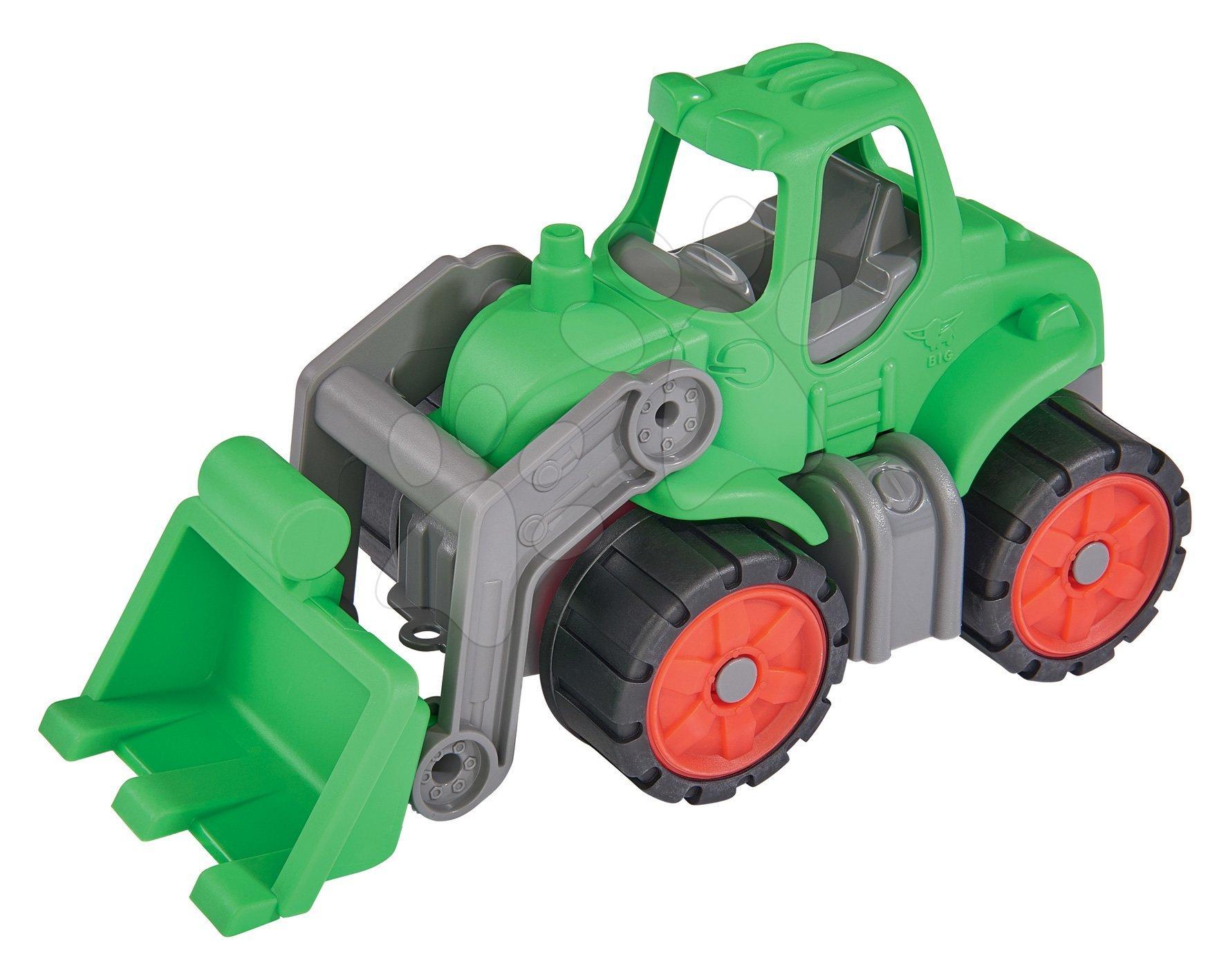 Poľnohospodárske stroje - Traktor Power BIG dĺžka 23 cm zelený od 24 mes