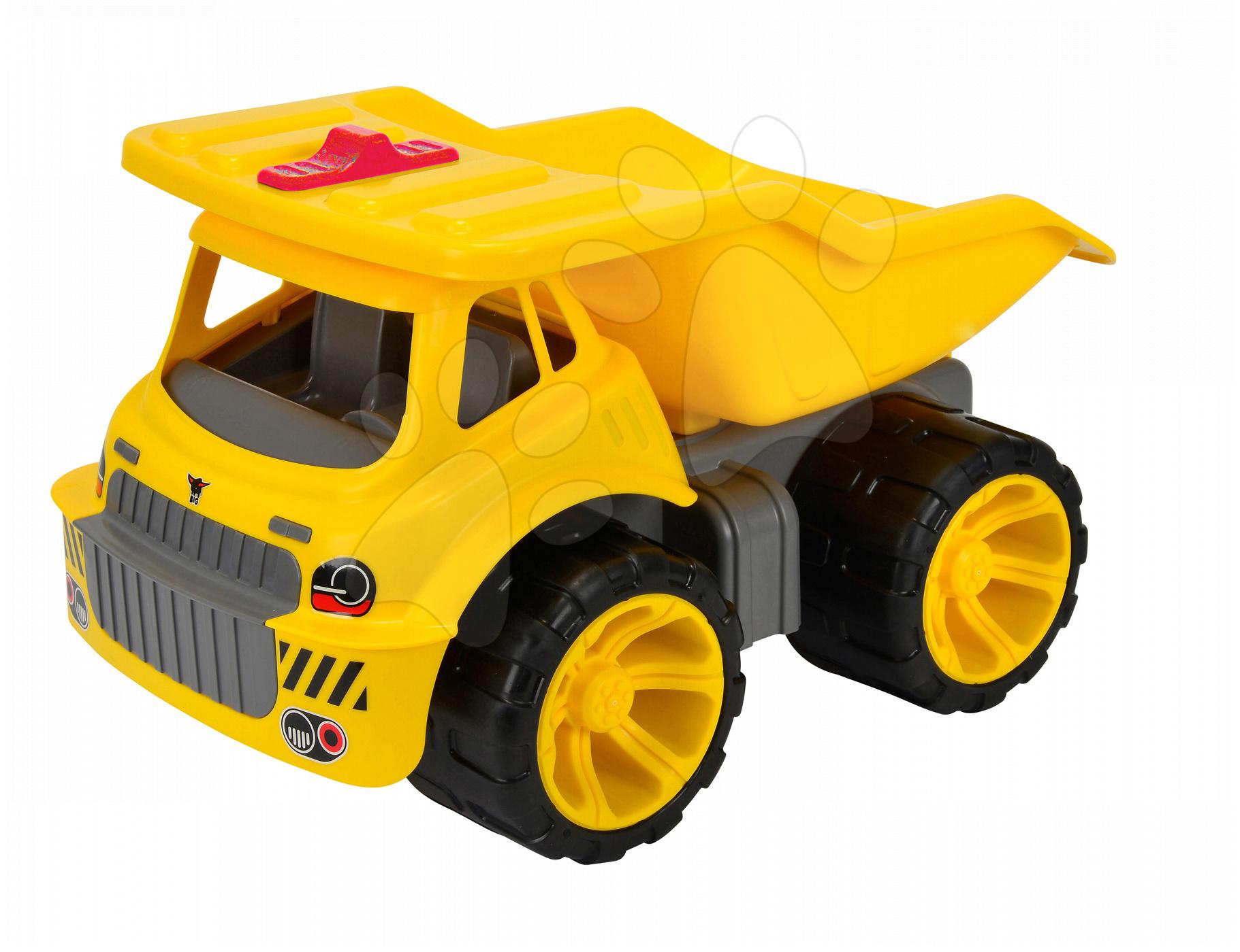Nákladní auto Maxi Power BIG délka 46 cm žluté od 24 měsíců