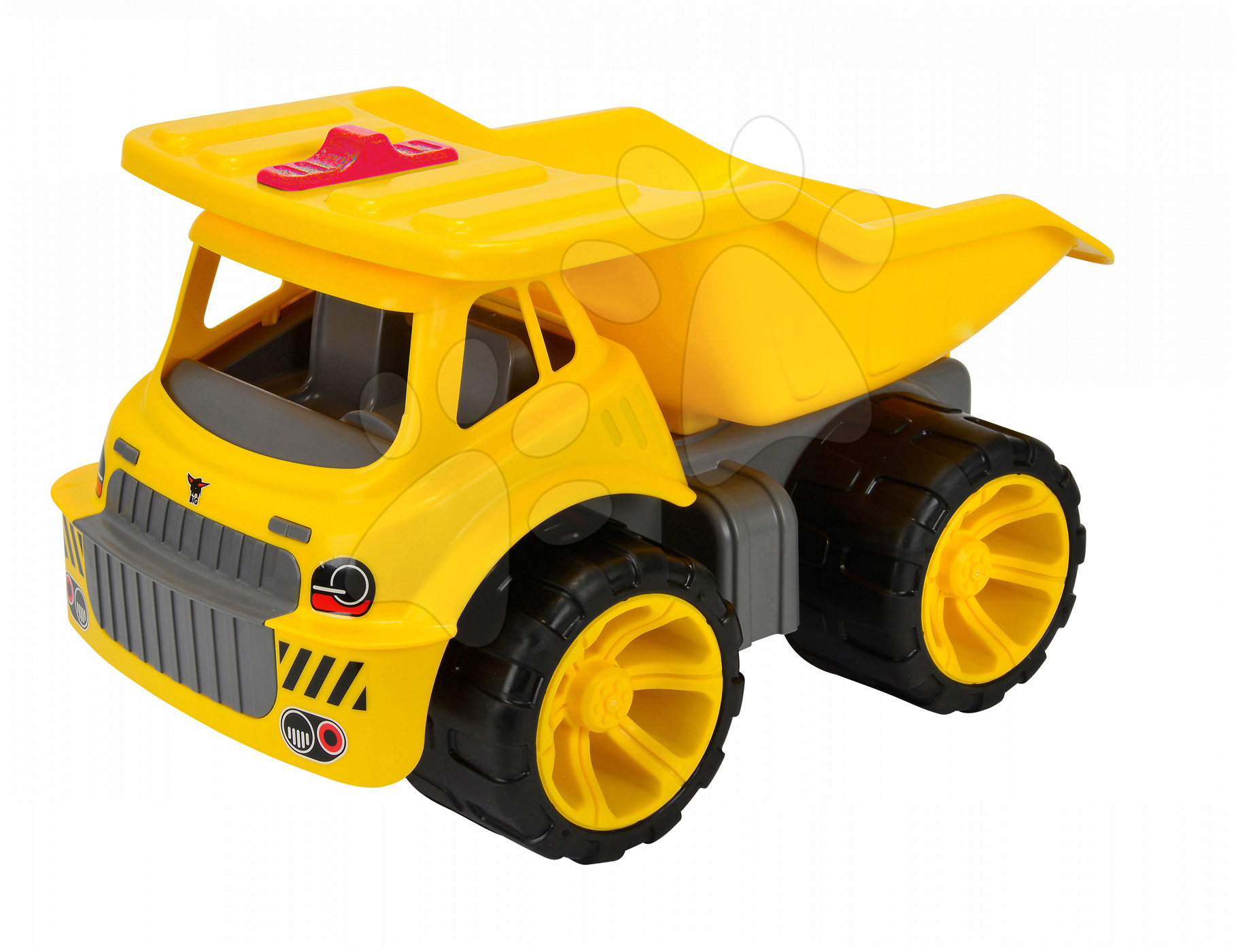Nákladné autá - Nákladné auto Maxi Power BIG dĺžka 46 cm žlté od 24 mes