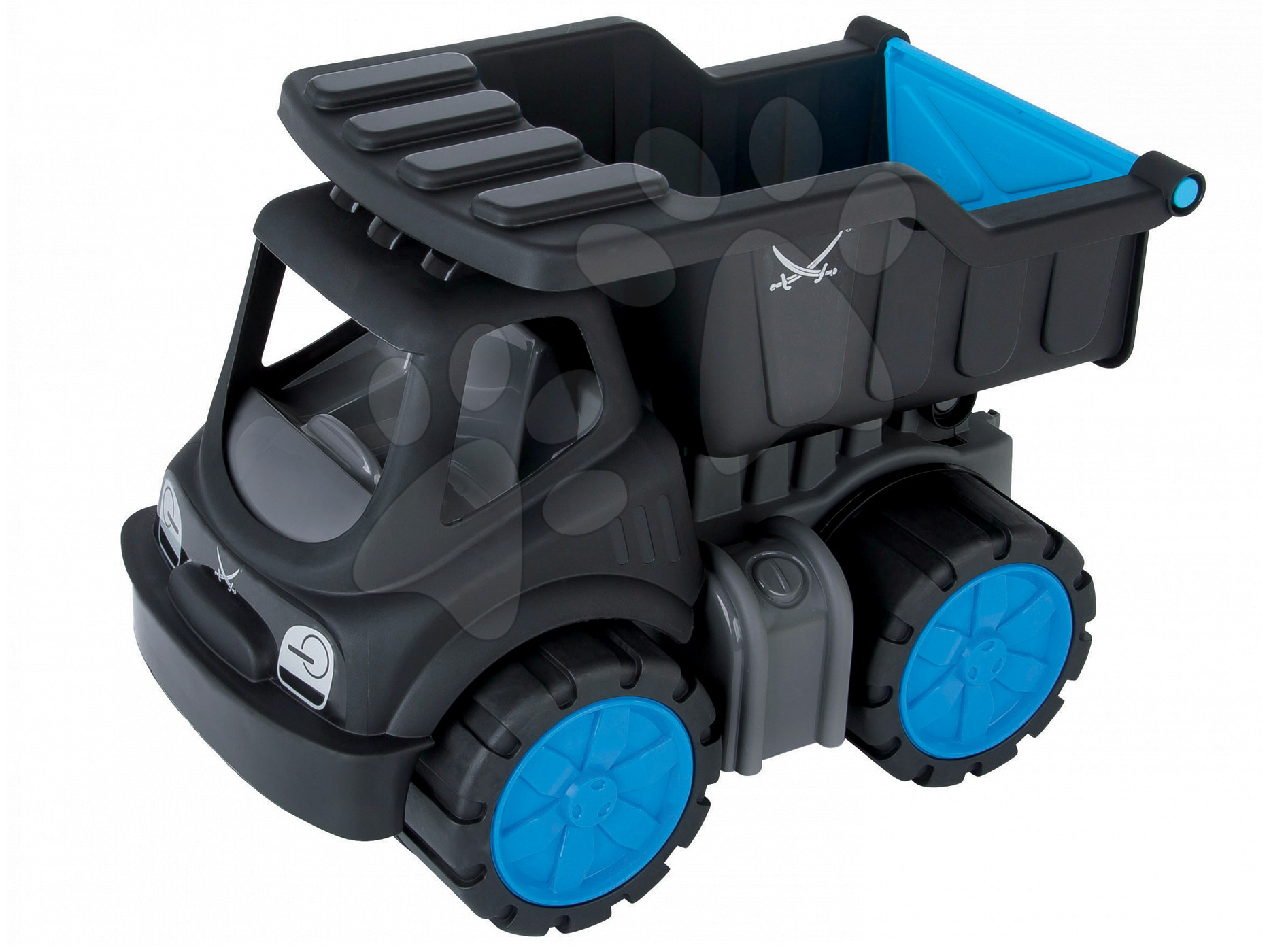Nákladné autá - Nákladné auto Sansibar BIG dĺžka 33 cm čierne od 24 mes