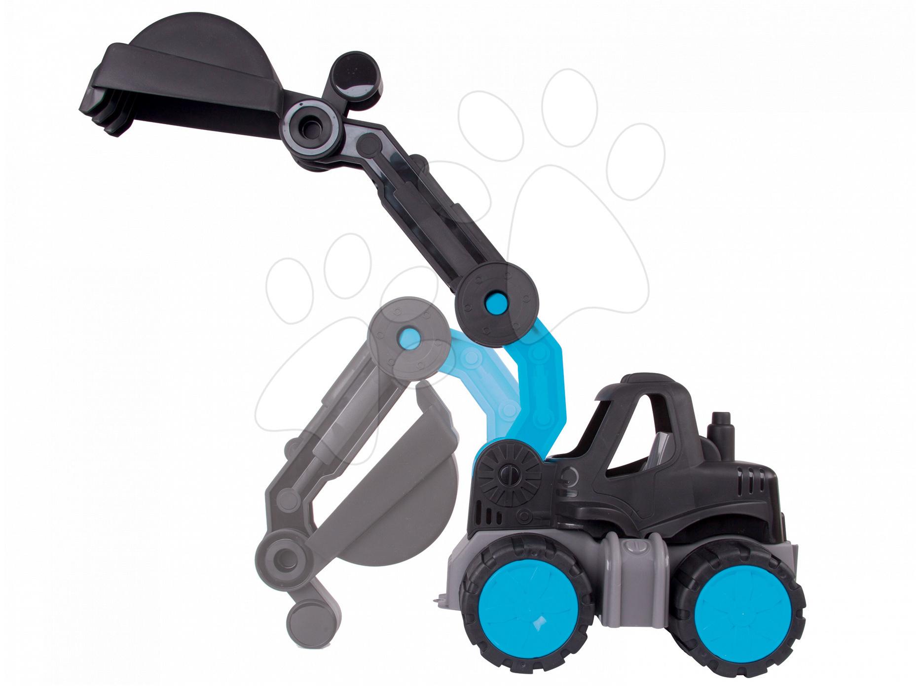 Játék építőgépek - Markológép Sansibar BIG hossza 67 cm fekete 24 hó-tól