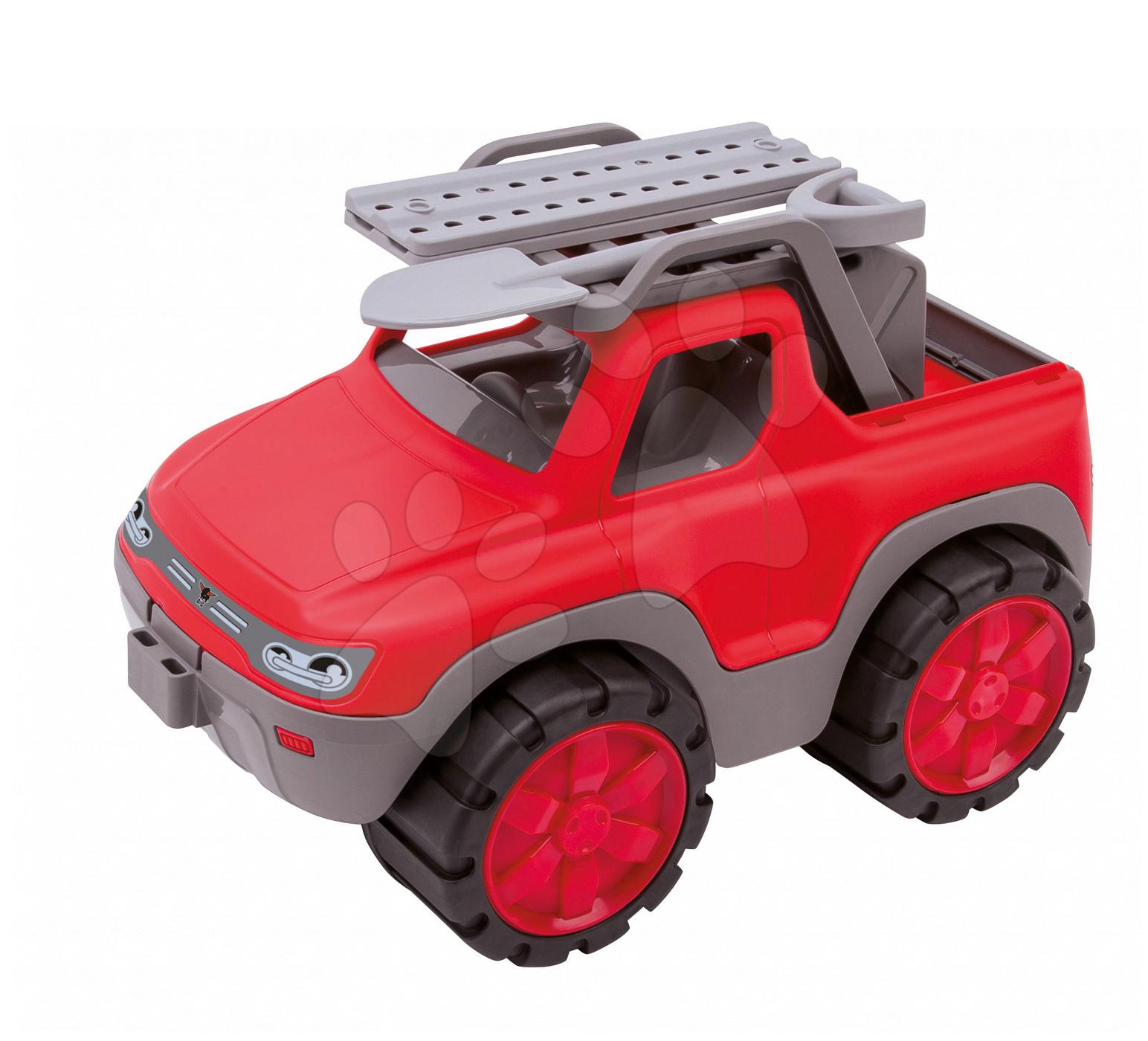 Nákladné autá - Pohotovostné vozidlo Power Pick-up BIG dĺžka 33 cm červené od 24 mes