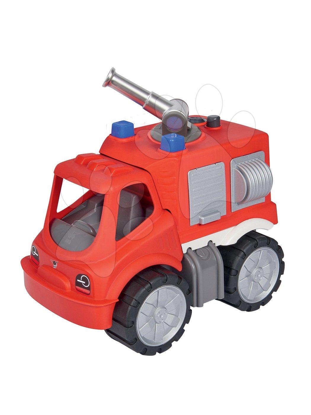 Gasilsko vozilo z vodnim topom Power Worker Fire Fighter Car BIG rdeče od 2 leta