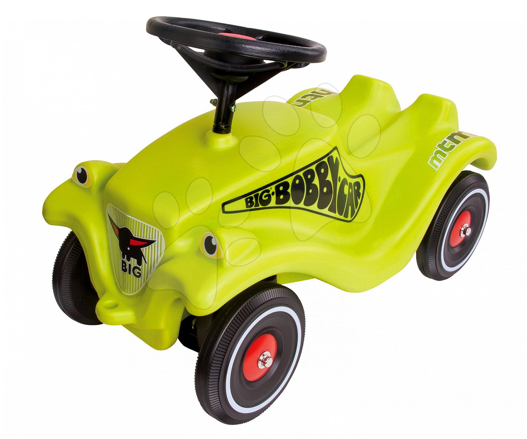 Odrážedlo Bobby Classic Racer BIG s klaksonem zelené od 12 měsíců