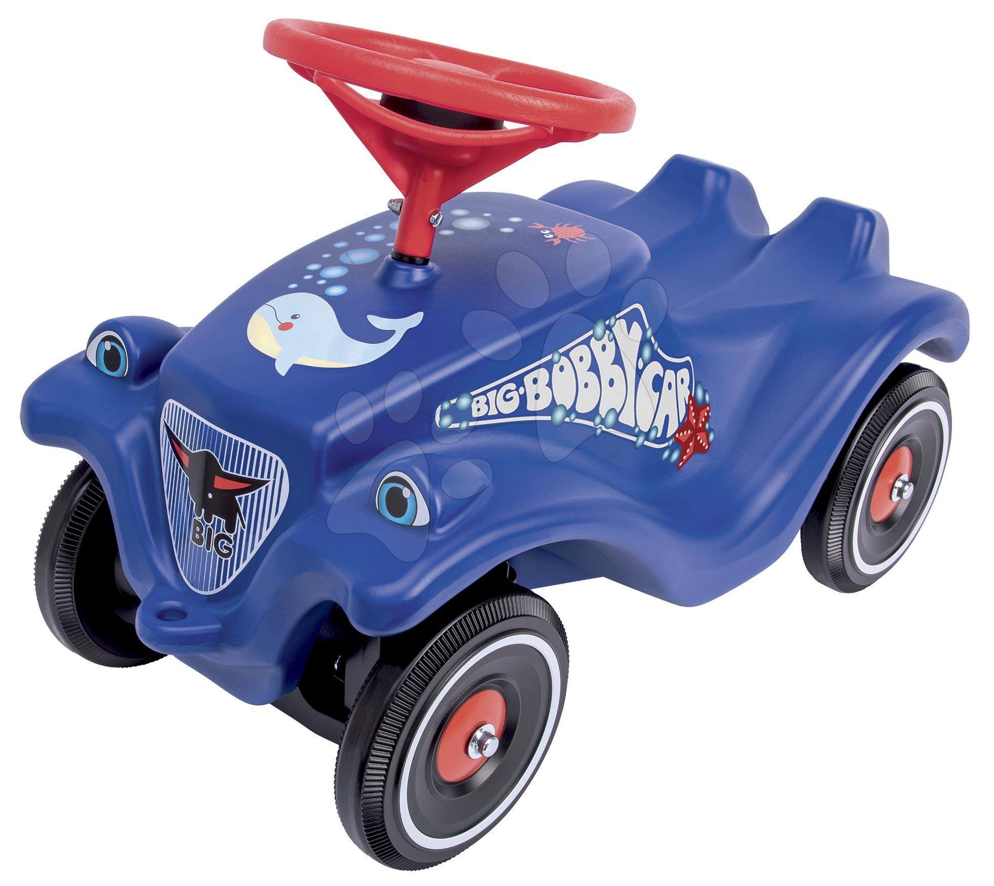 Odrážadlo auto Bobby Car Classic Ocean BIG modré so zvukom a nálepkami mora od 12 mes