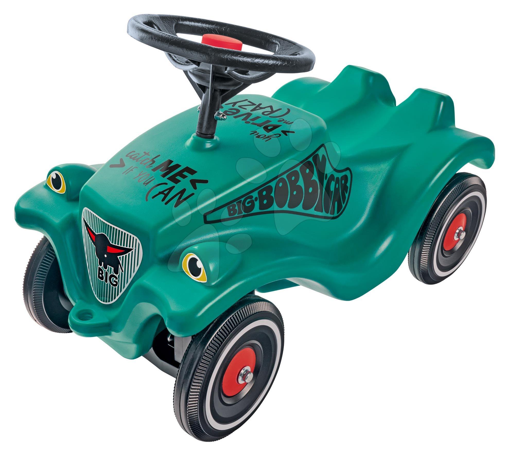 Odrážedlo auto Bobby Car Classic Racer 2 BIG zelené se zvukem a nálepkami od 12 měs
