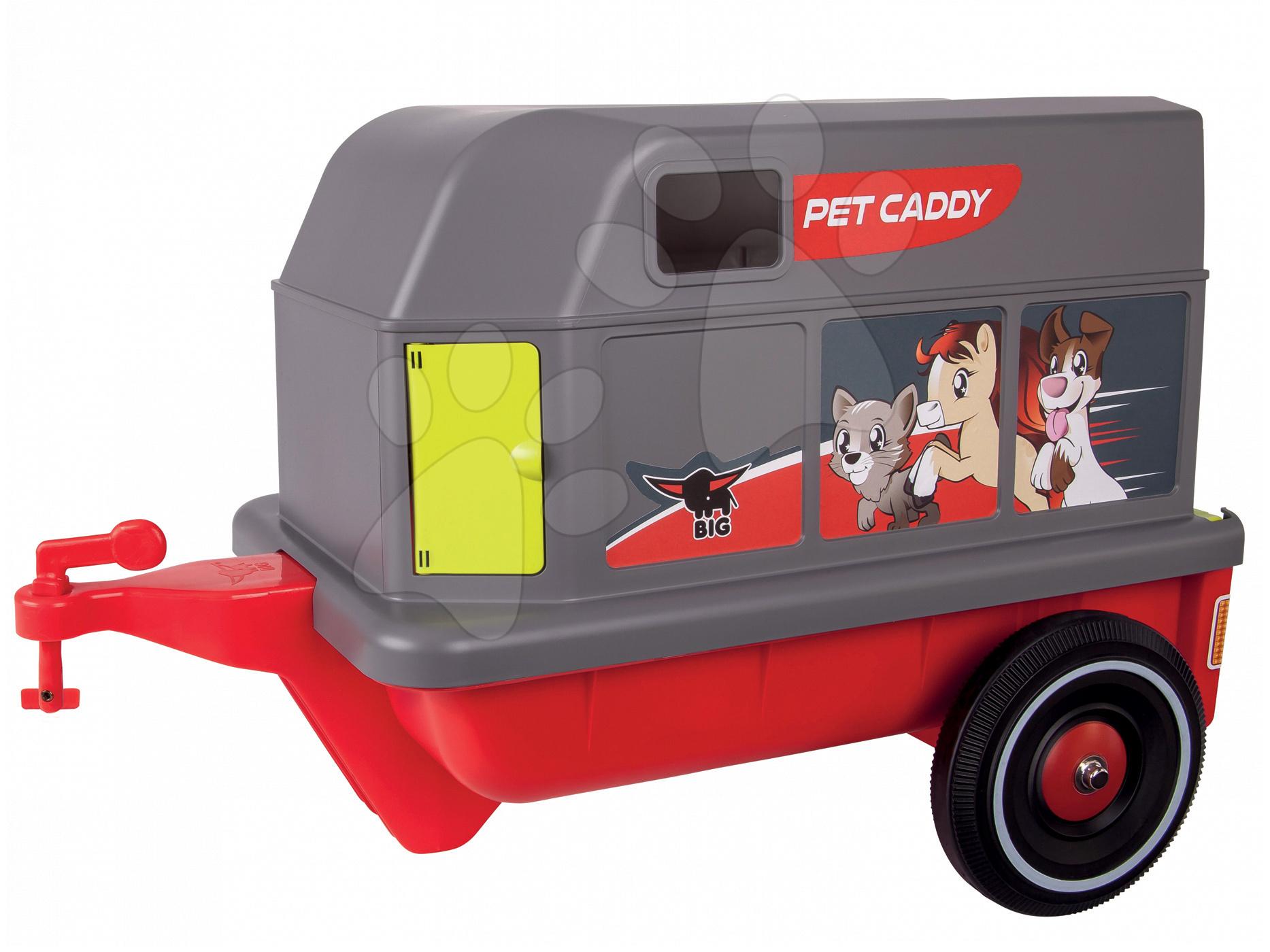 Príslušenstvo k odrážadlám - Príves Bobby Pet Caddy BIG k odrážadlám BIG New&Classic&Neo&Next&Scooter od 12 mes