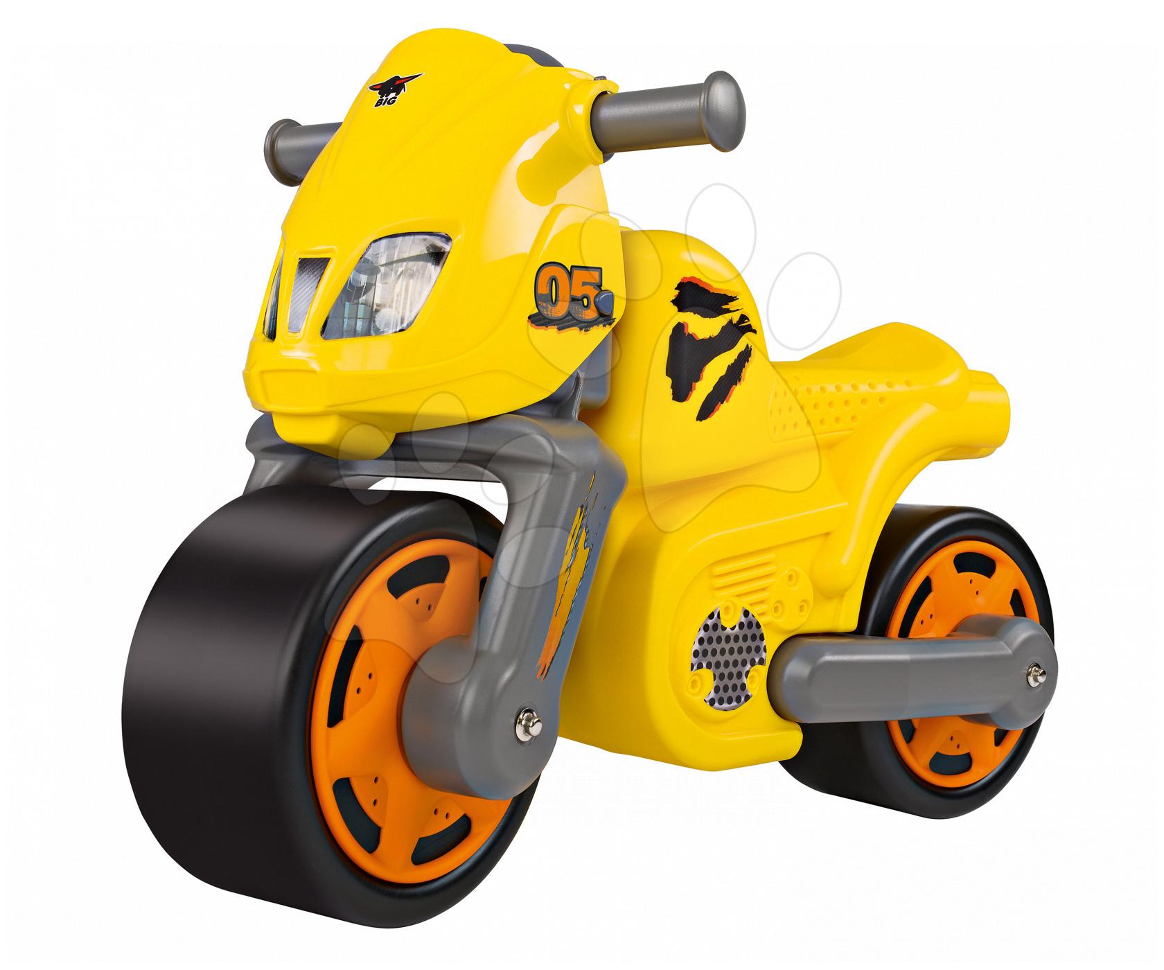 Balanční odrážadlo BIG Bike žluté