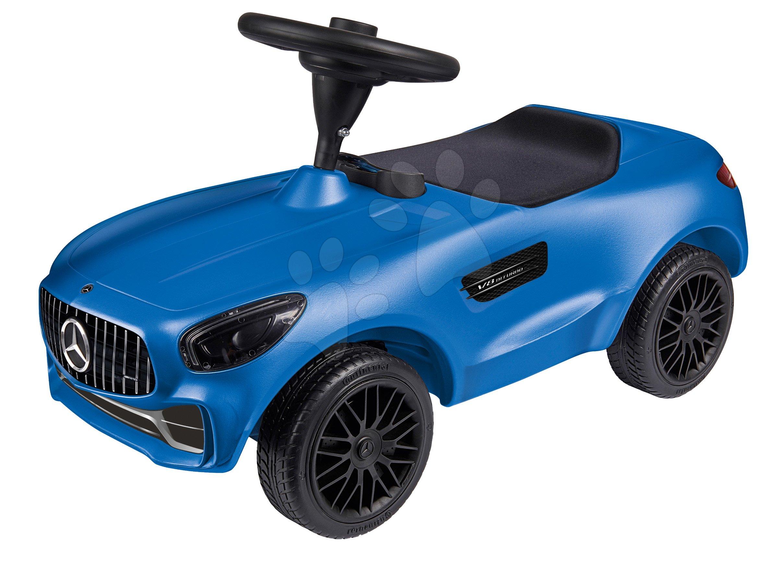 Odrážedlo auto Mercedes AMG GT Bobby BIG s klaksonem modré od 18 měsíců