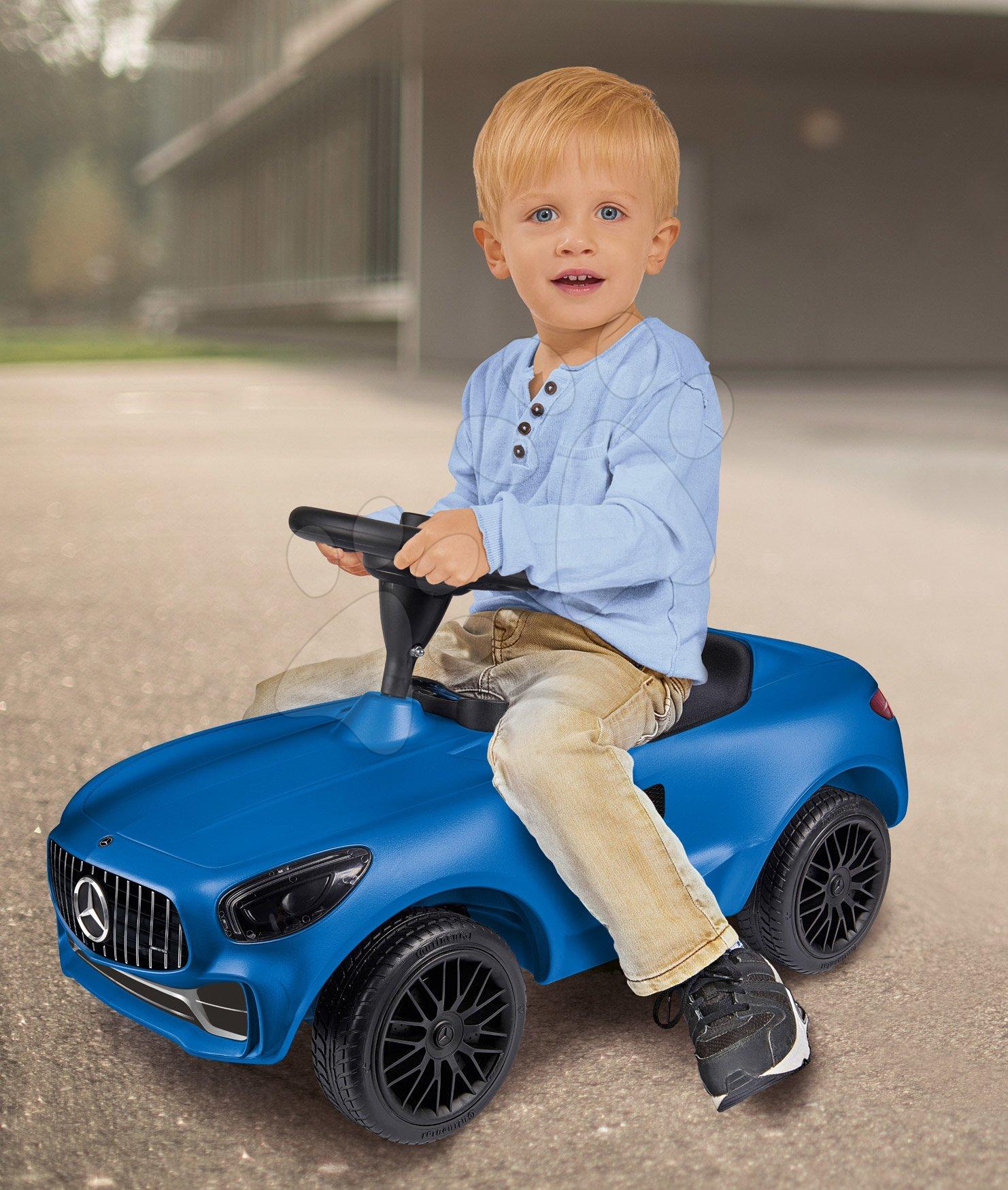 Dětské odrážedlo mercedes BIG modré