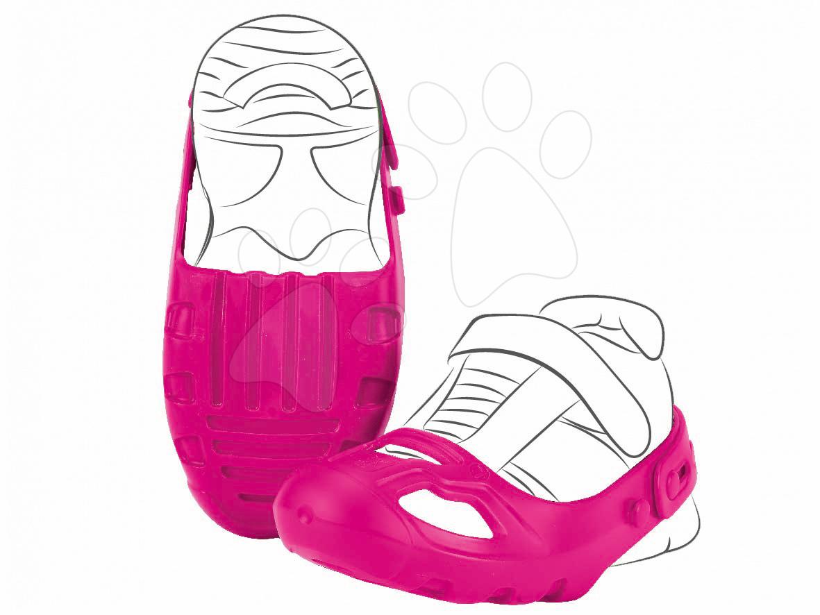BIG detské ochranné návleky k odrážadlám Shoe-Care veľkosť 21-27 ružové 56447