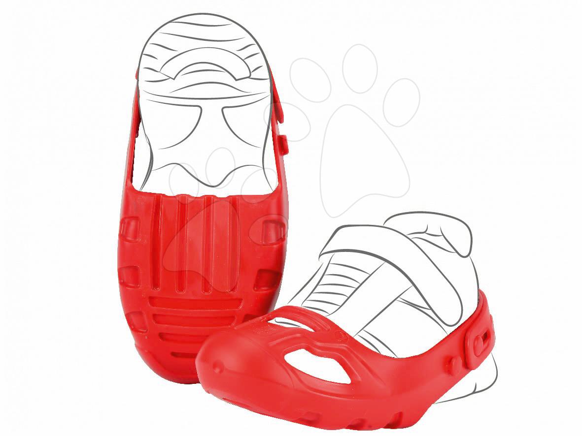BIG ochranné návleky na topánky 56449 červené