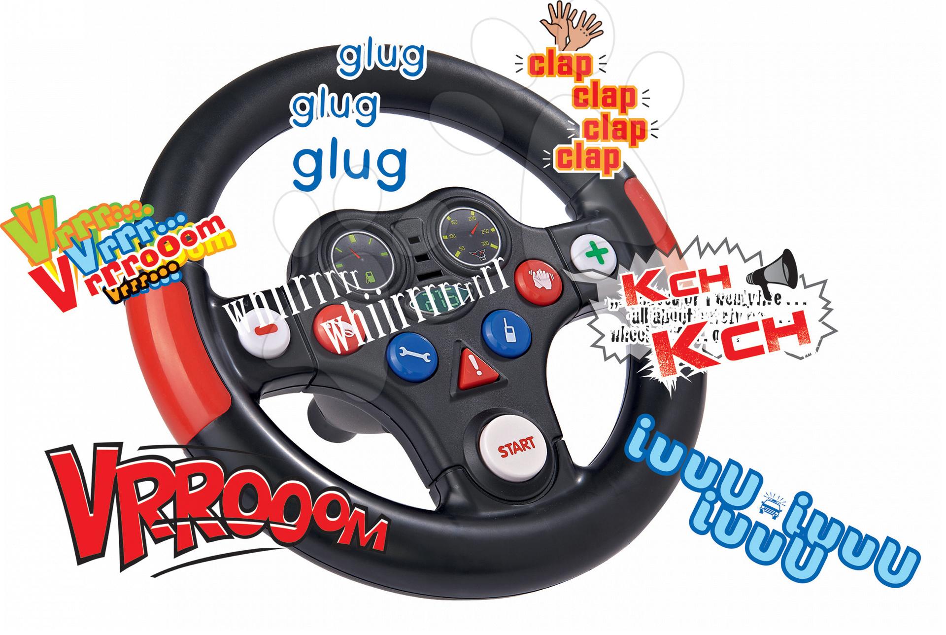 BIG interaktívny volant k odrážadlám 56487