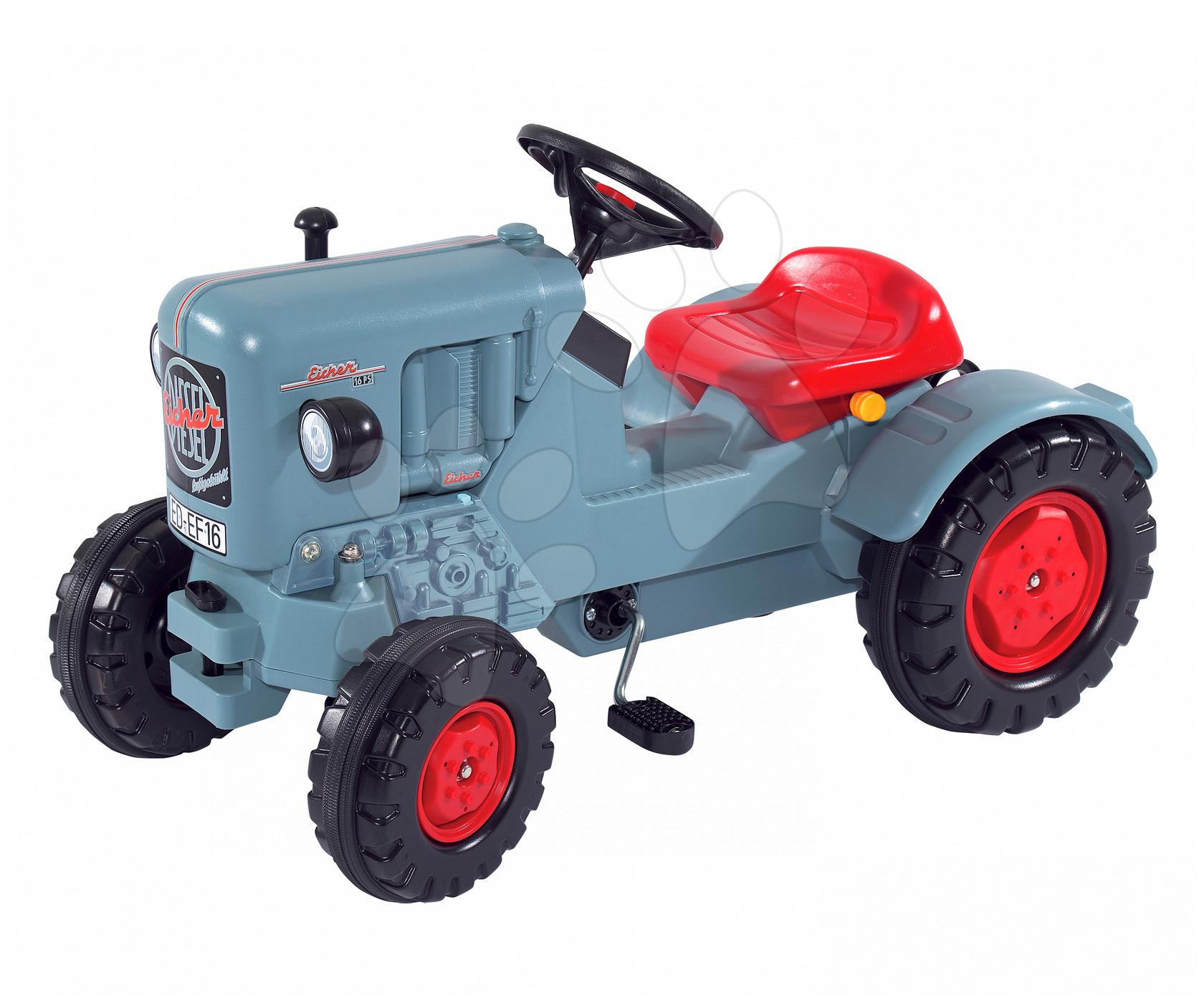 Tractor cu pedale Eicher Diesel ED 16 BIG albastru