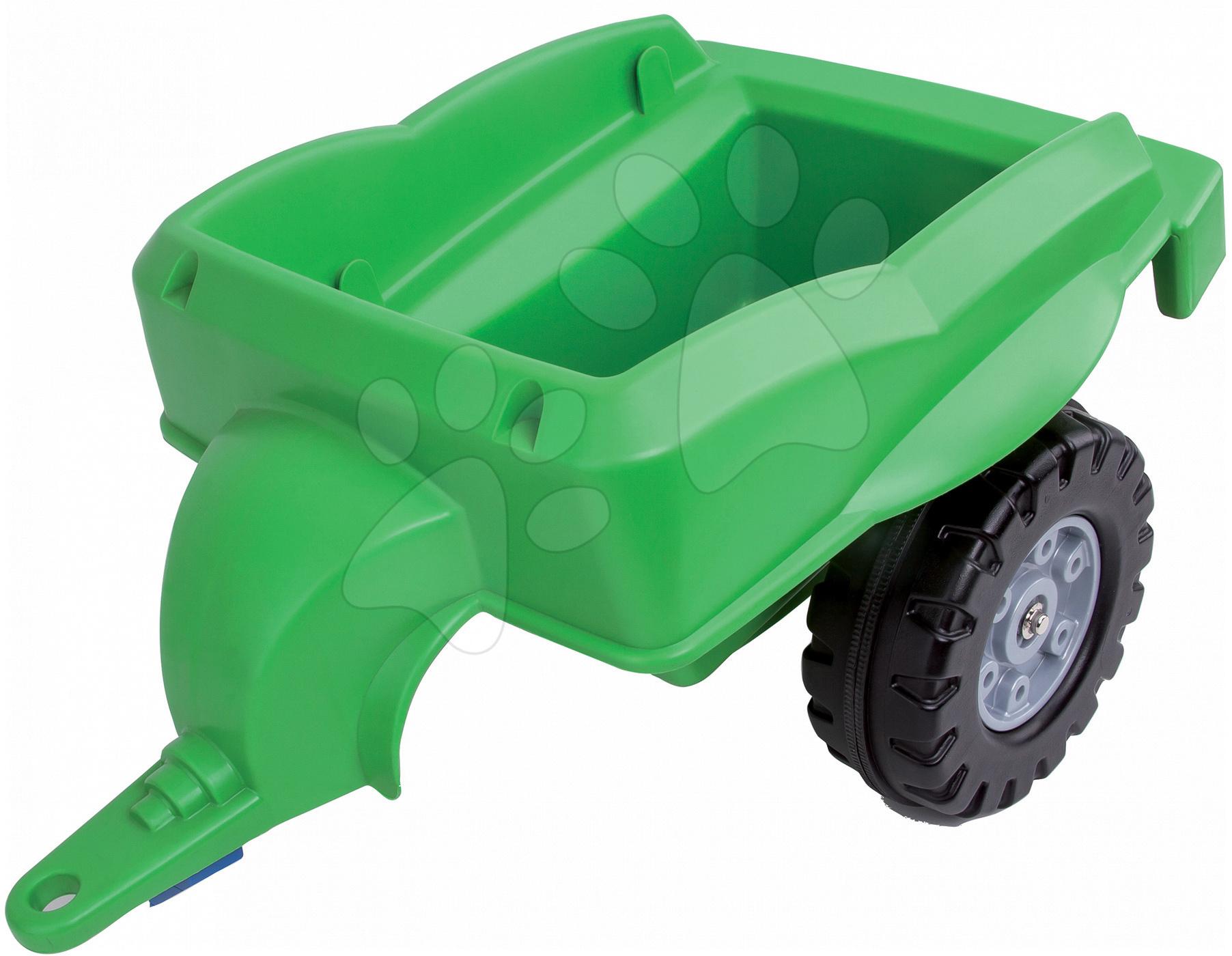 Detské šliapacie vozidlá - Vlečka k traktorom BIG zelená