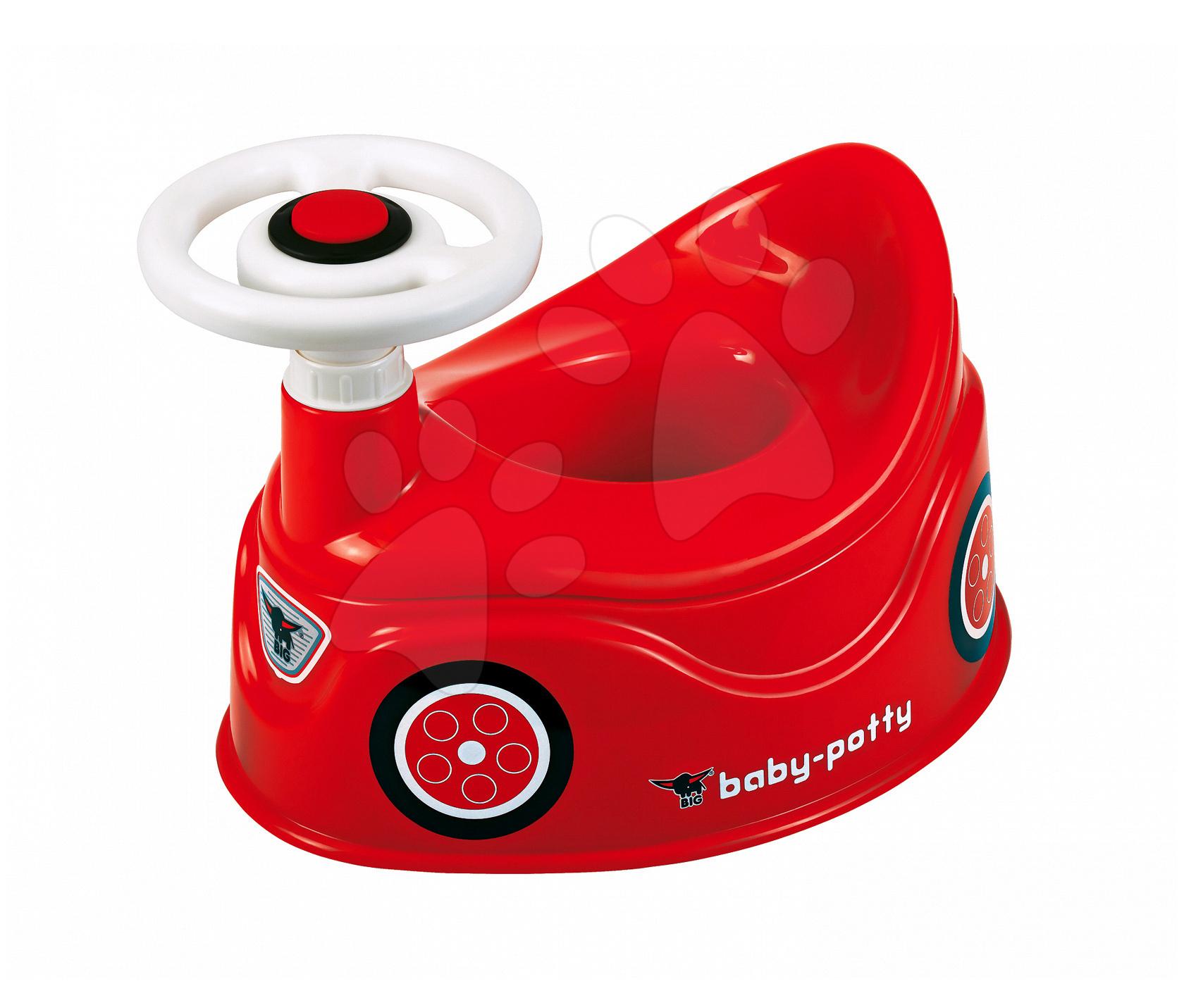 Kahlice - Kahlica avtomobilček BIG z volanom in hupo rdeča od 18 mes