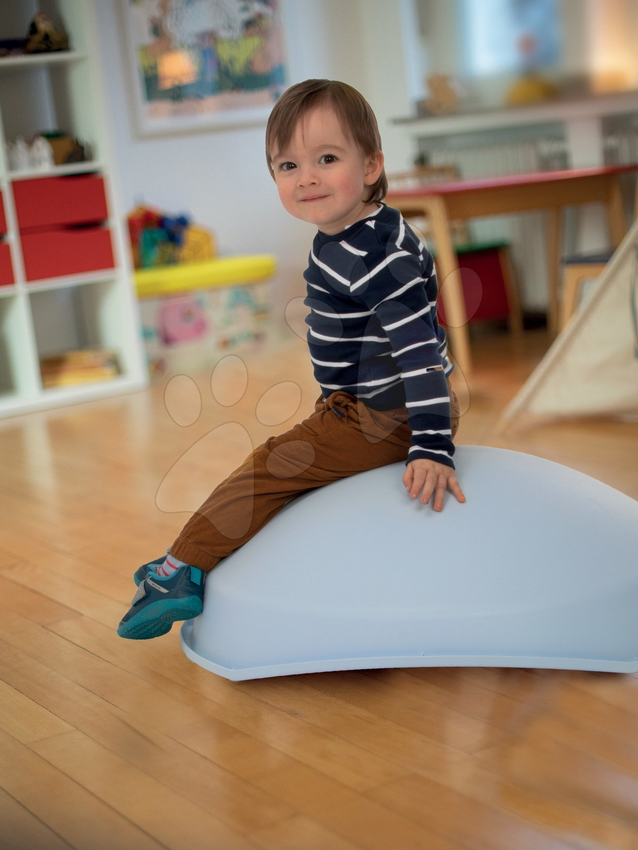 Skluzavky pro děti - Balanční kužel s polštářem Cosy BIG skluzavka-prolézačka-houpačka-pískoviště-bazén od 12 měsíců