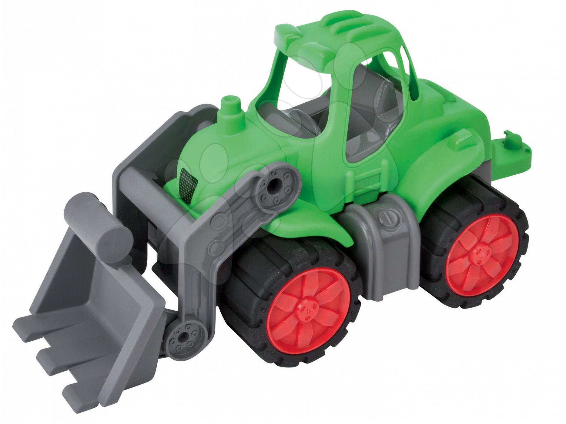 Traktor Power BIG s nakladačem délka 46 cm zelený od 24 měsíců