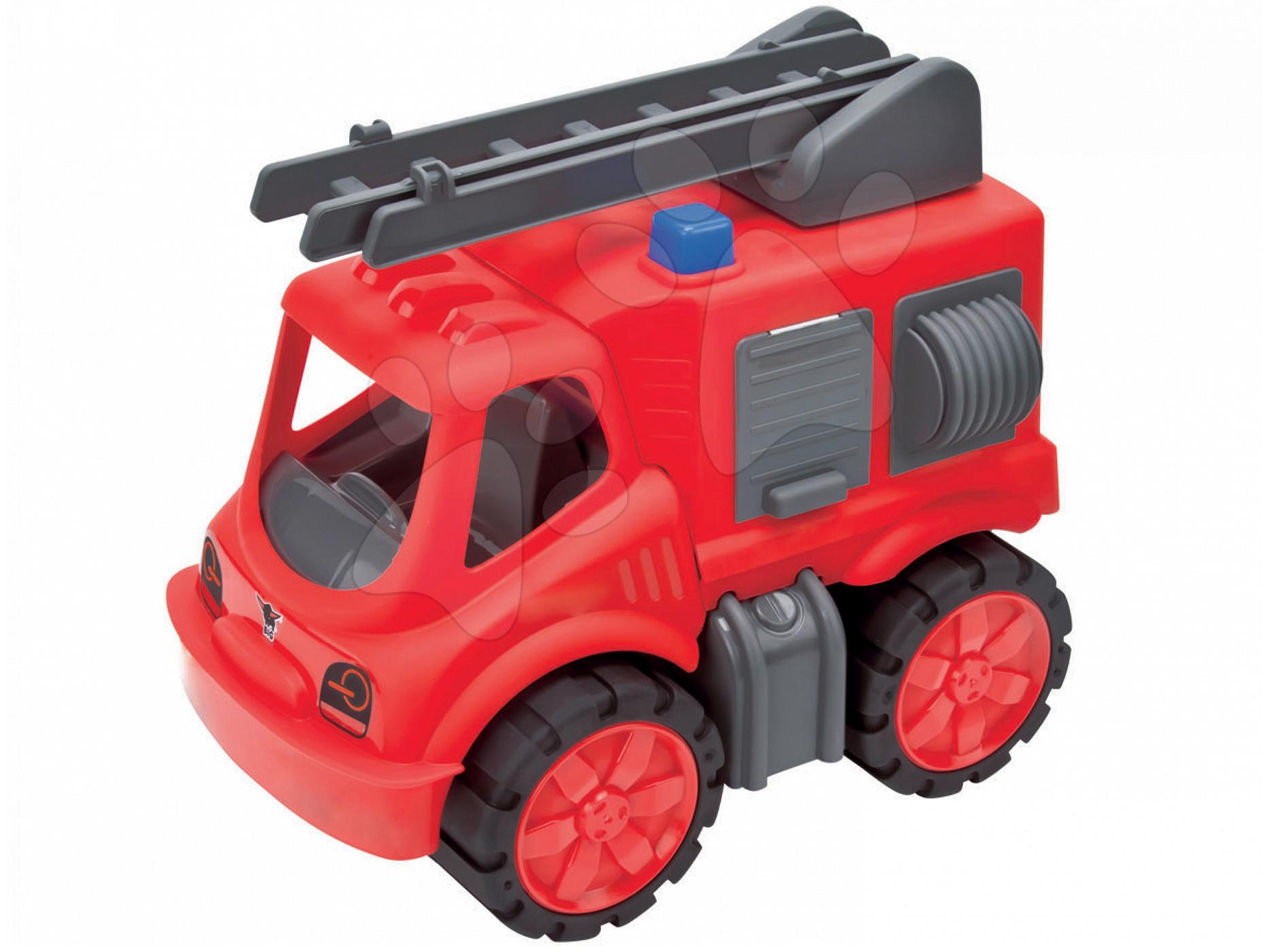 Hasičské auto Power BIG délka 31 cm červené od 24 měsíců