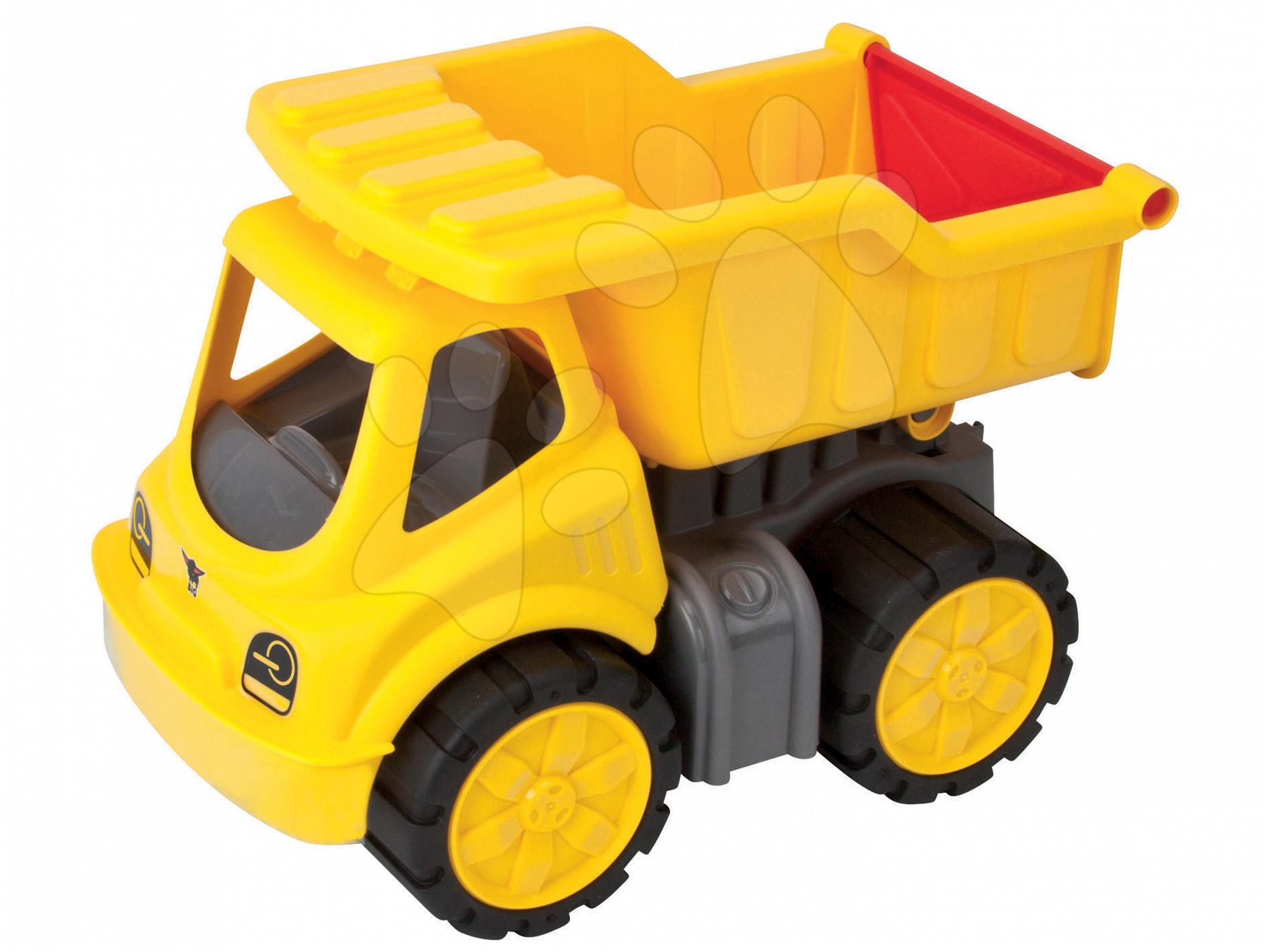 Nákladné autá - Nákladné auto Power BIG dĺžka 33 cm žlté od 24 mes