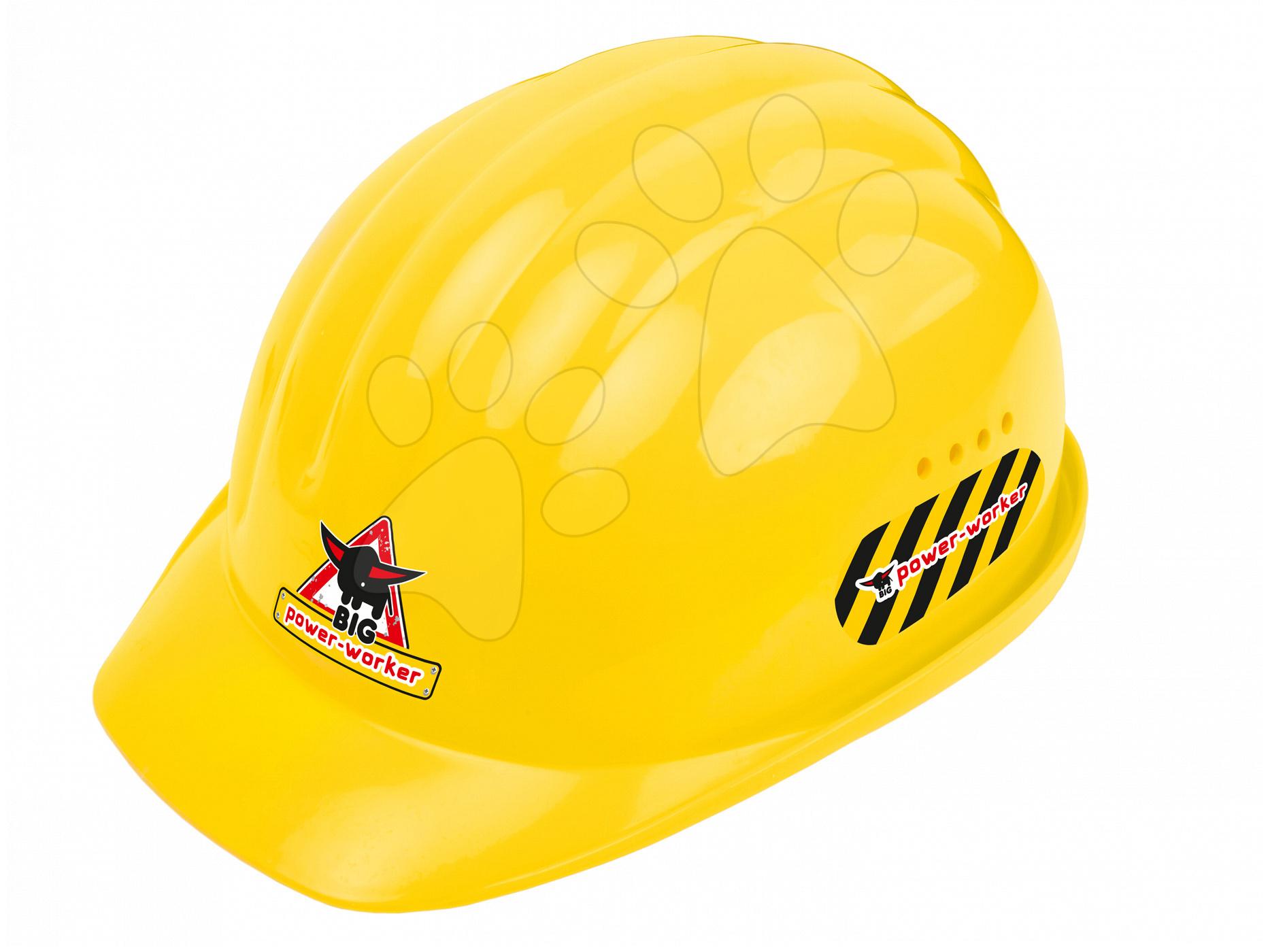 Pracovní přilba Power Worker BIG nastavitelná velikost žlutá od 24 měsíců