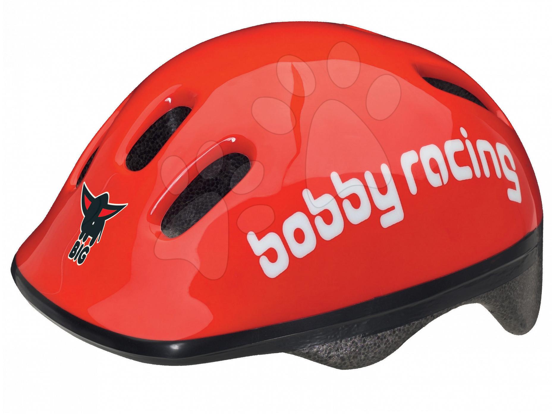 Přilba Bobby BIG velikost 48-54 cm červená