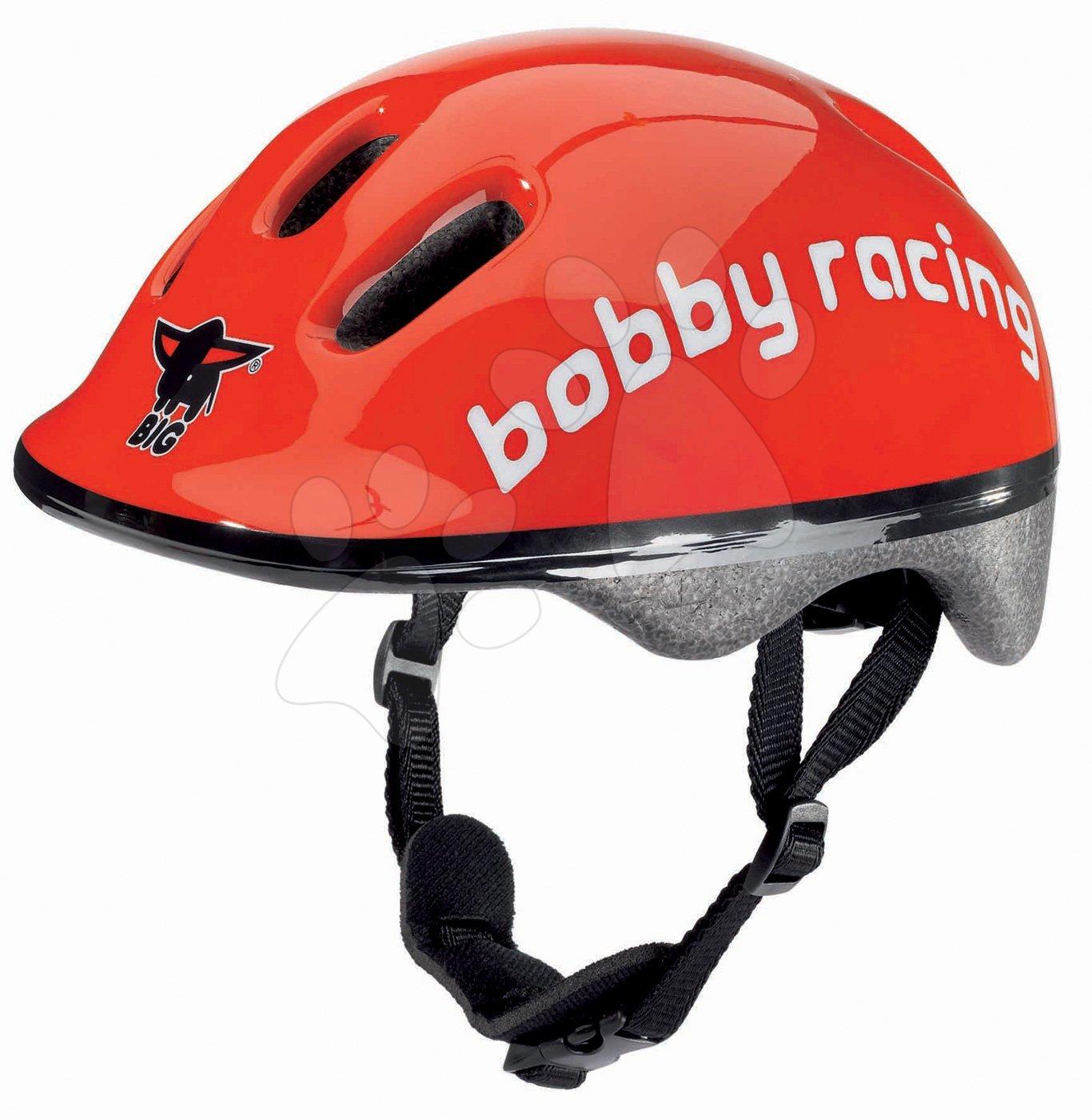 Detské prilby - Prilba Racing BIG veľkosť 48-54 červená od 12 mes