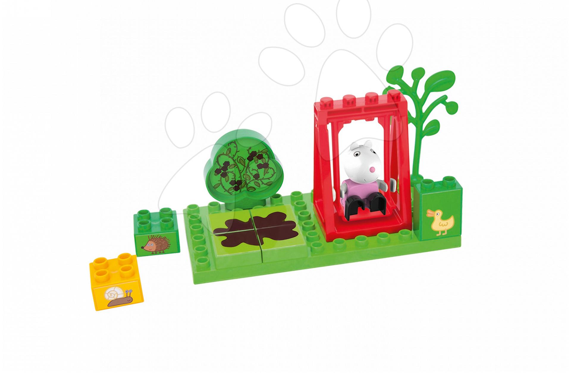 Stavebnica Peppa Pig na hojdačke PlayBIG Bloxx BIG 13 dielov a 1 figúrka od 1,5-5 rokov