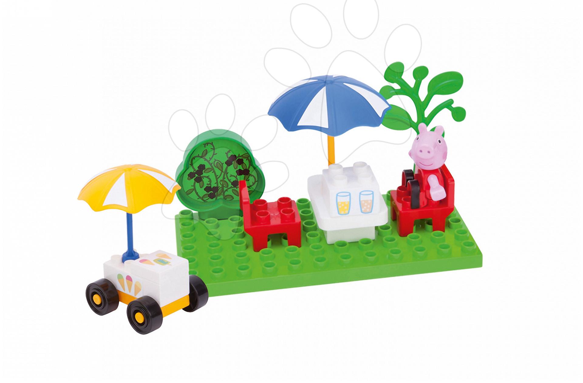 Stavebnica Peppa Pig na zmrzline PlayBIG Bloxx BIG 20 dielov a 1 figúrka od 1,5-5 rokov
