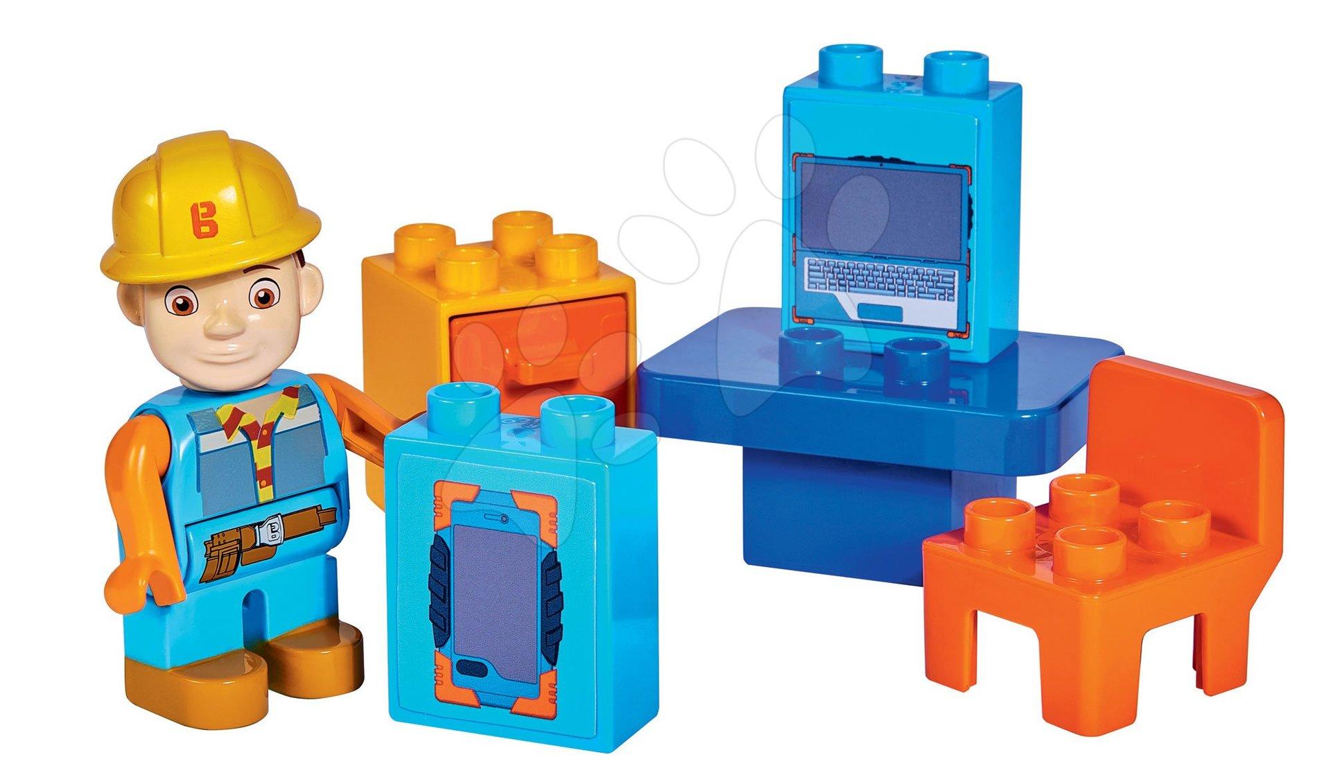 Stavebnice Bořek Stavitel elektrikář s rozvodnou PlayBIG Bloxx BIG 8-10 kusů od 24 měsíců
