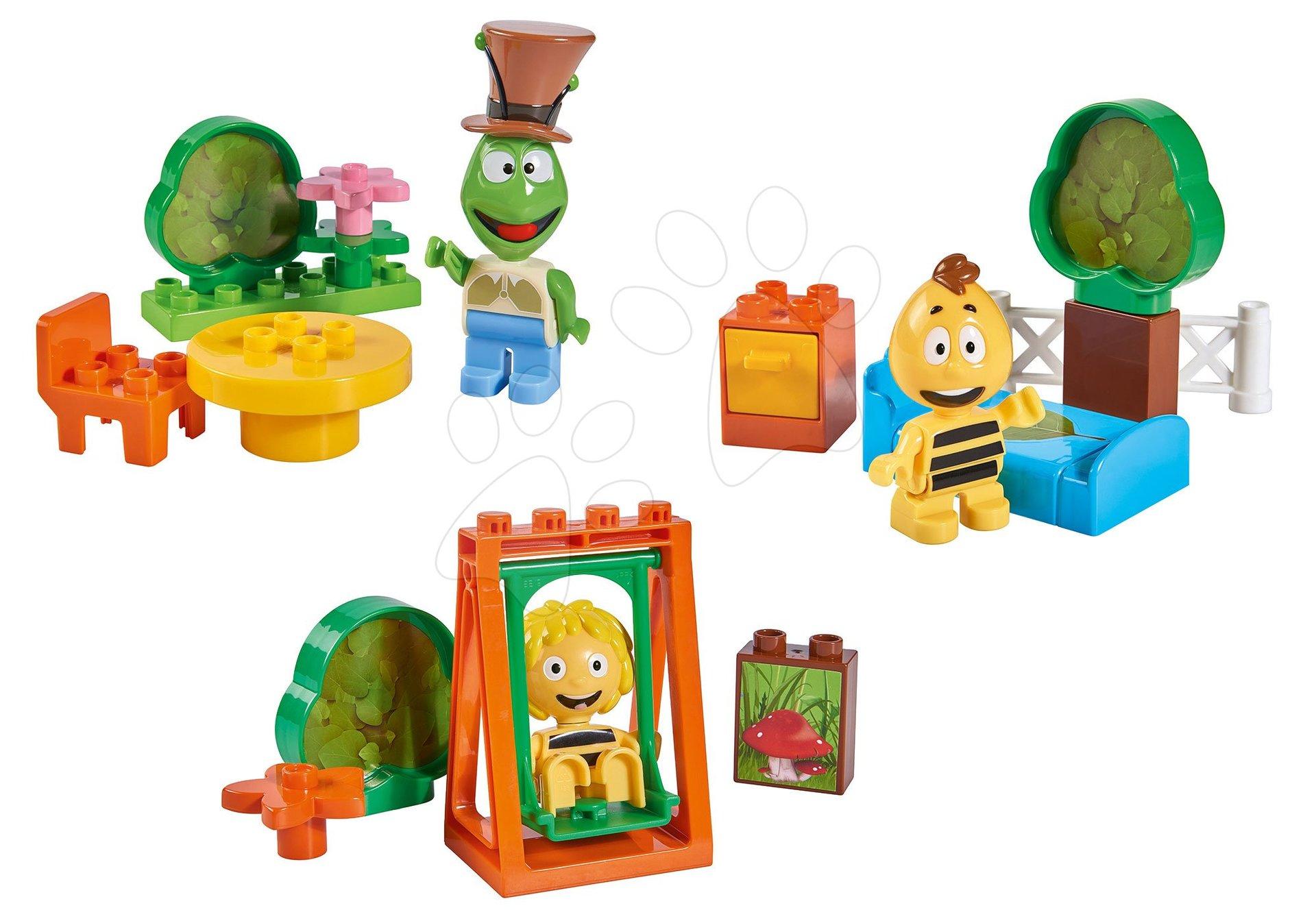 Set tří stavebnic Včelka Mája, Vilko a Flip PlayBIG Bloxx 3 figurky od 24 měsíců